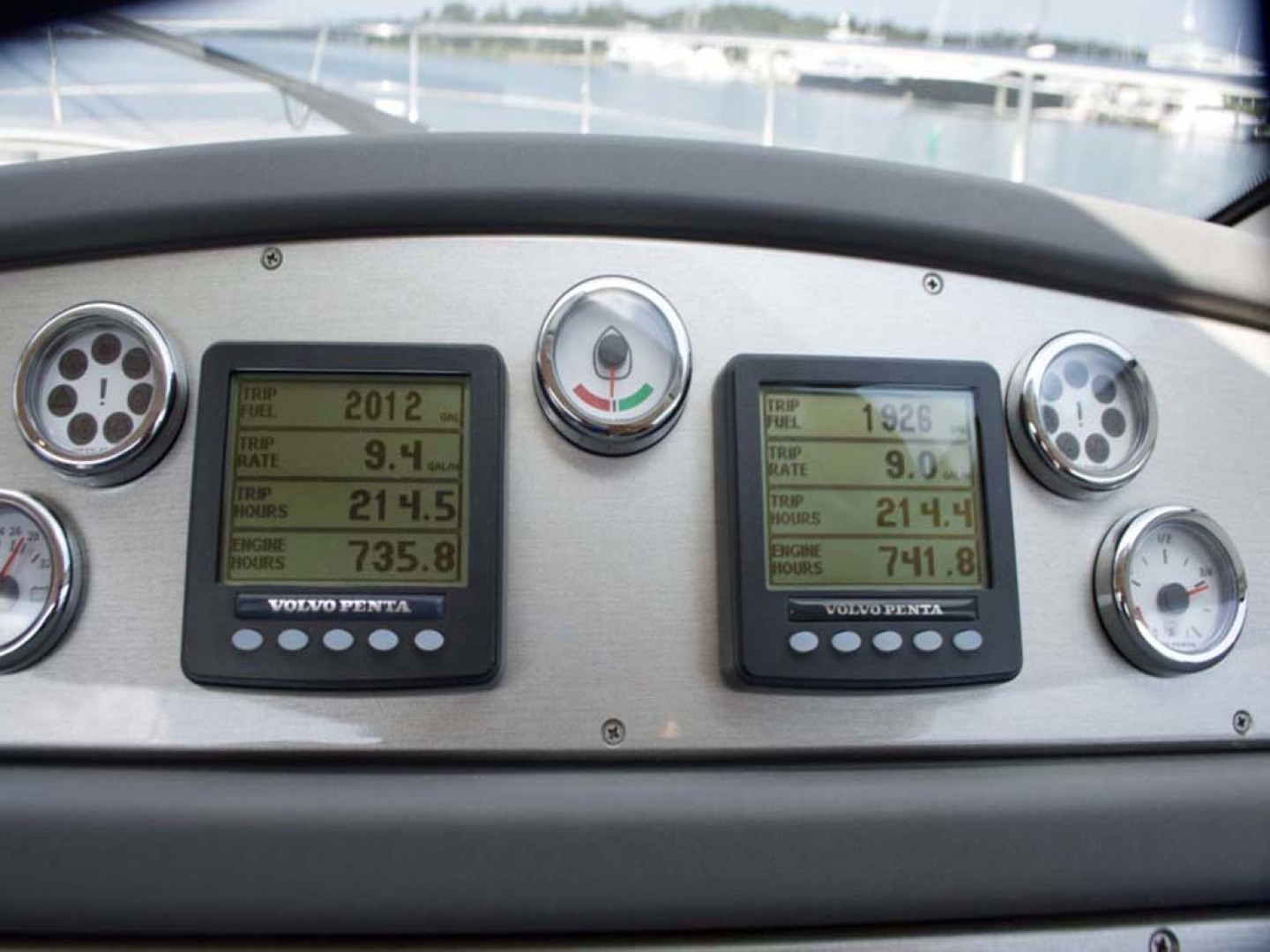 Riviera-4400 Sport Yacht 2009-Soul Mates Long Island-United States-Hour Meter at Time of Listing-1062571 | Thumbnail