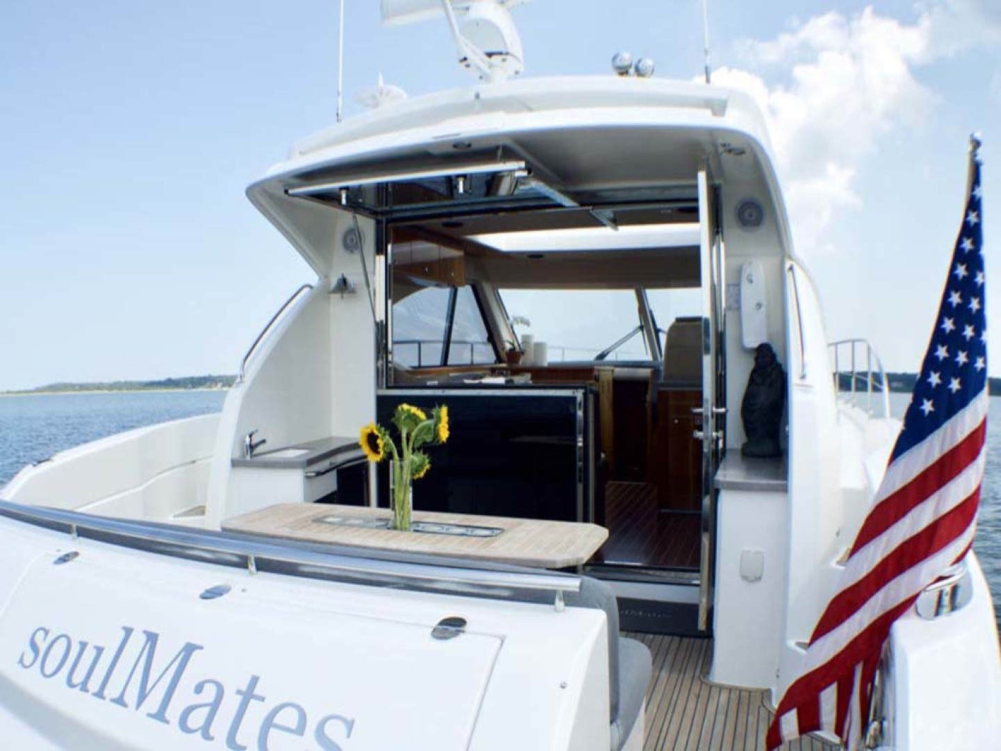Riviera-4400 Sport Yacht 2009-Soul Mates Long Island-United States-Cockpit-1062543 | Thumbnail