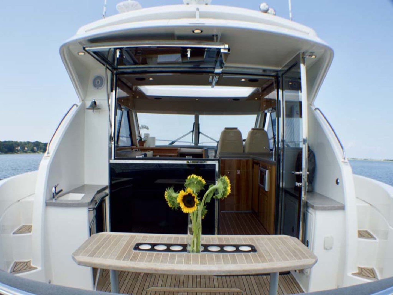 Riviera-4400 Sport Yacht 2009-Soul Mates Long Island-United States-Aft Bulkhead-1062538 | Thumbnail