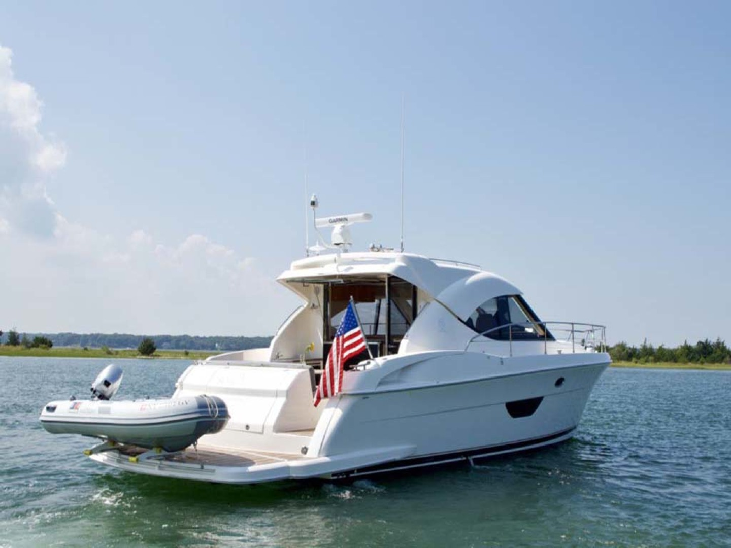 Riviera-4400 Sport Yacht 2009-Soul Mates Long Island-United States-44 Riviera 2009 Starboard Profile-1062527 | Thumbnail