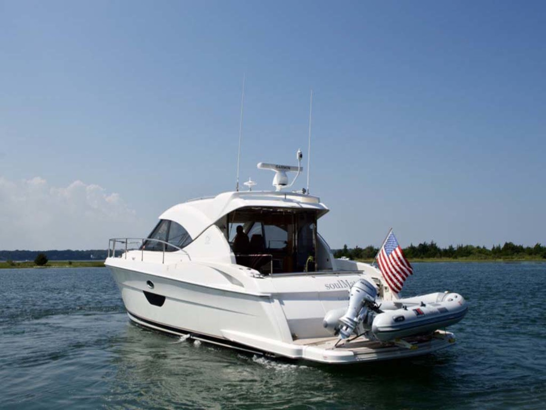 Riviera-4400 Sport Yacht 2009-Soul Mates Long Island-United States-44 Riviera 2009 Port Quarter Profile-1062531 | Thumbnail
