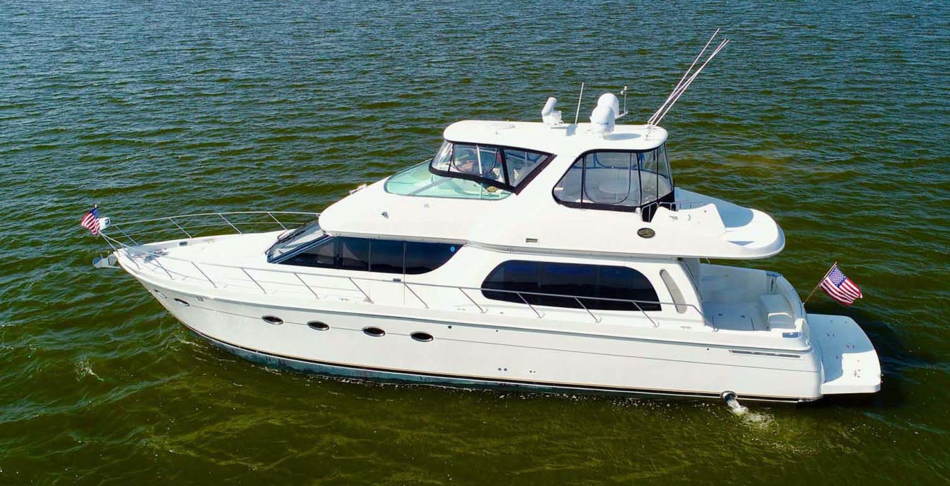Carver 56' 560 Voyager 2006  NEED A BREAK