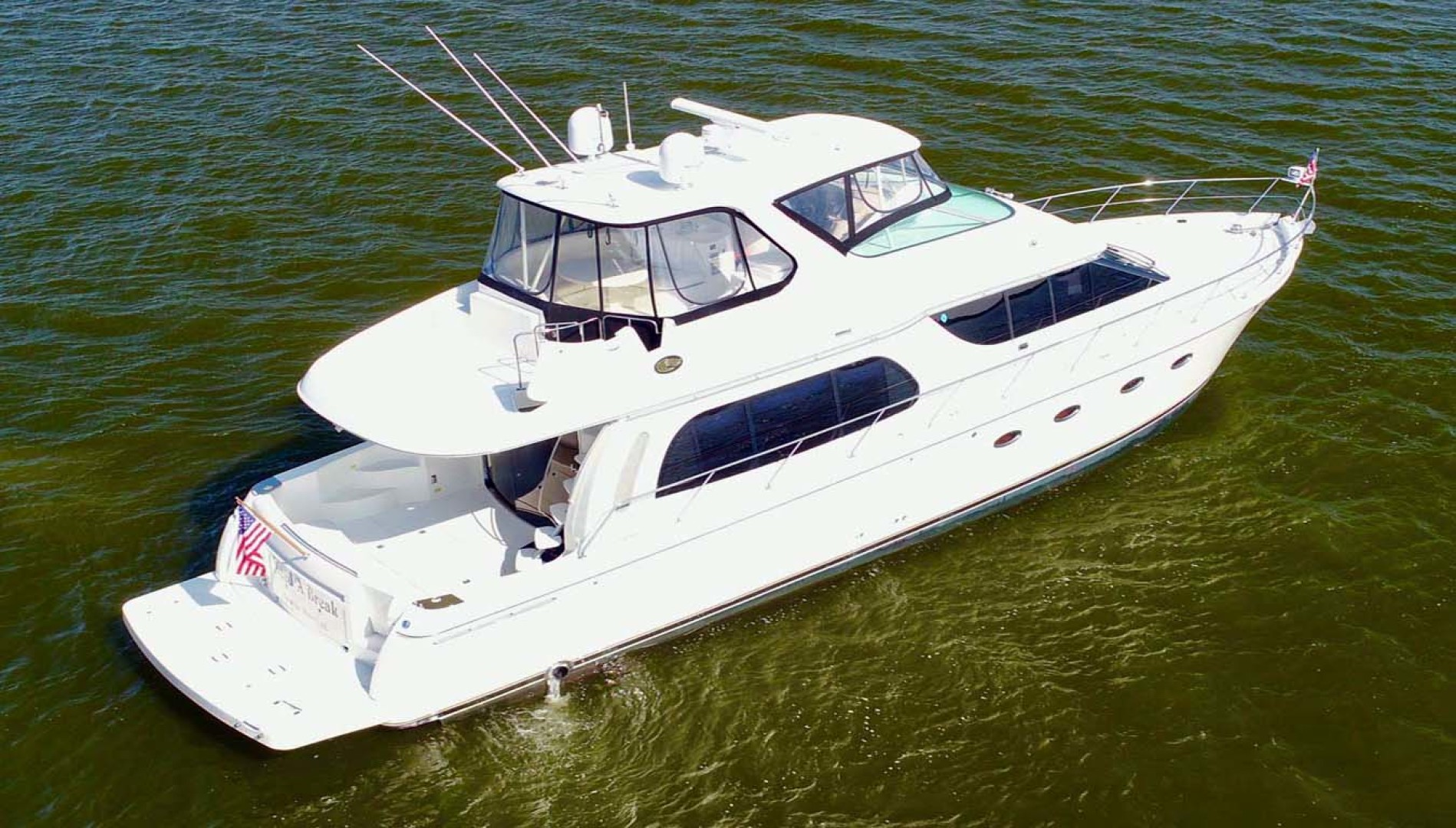 Carver-560 Voyager 2006-NEED A BREAK Fort Myers-Florida-United States-Starboard Aft Quarter-1105759 | Thumbnail