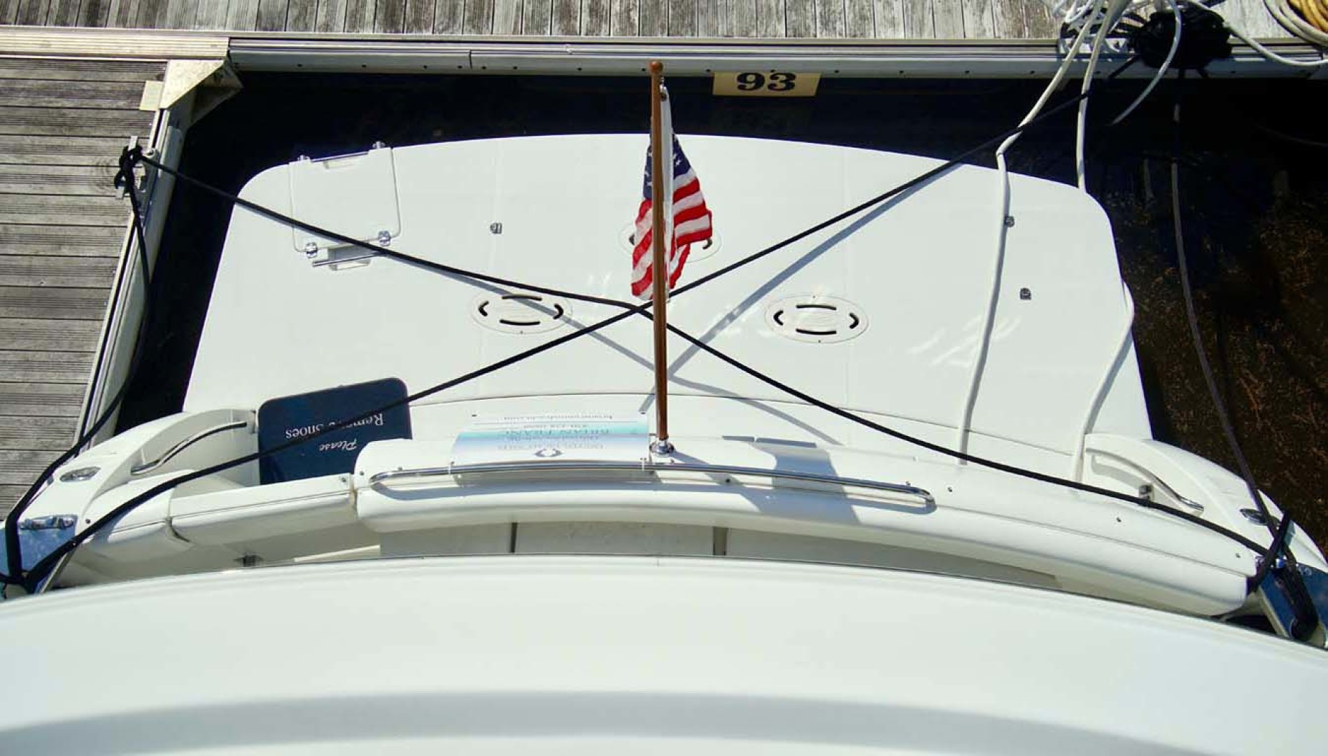 Carver-560 Voyager 2006-NEED A BREAK Fort Myers-Florida-United States-Transom-1105802 | Thumbnail