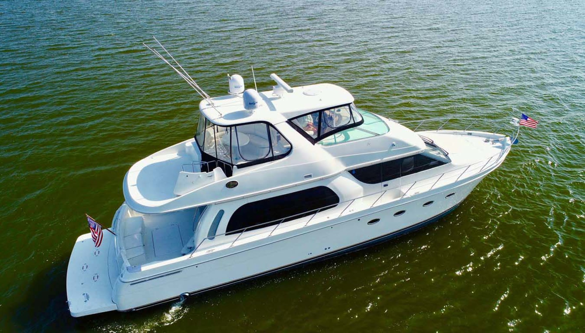 Carver-560 Voyager 2006-NEED A BREAK Fort Myers-Florida-United States-Starboard Aft Quarter-1105820 | Thumbnail