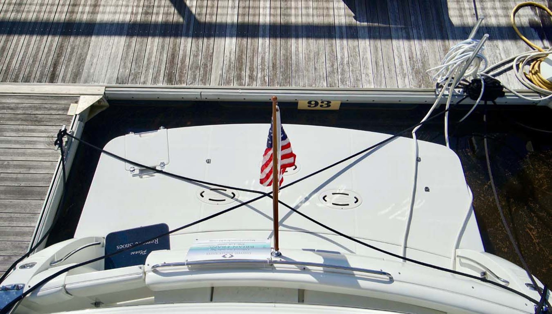 Carver-560 Voyager 2006-NEED A BREAK Fort Myers-Florida-United States-Transom-1105801 | Thumbnail