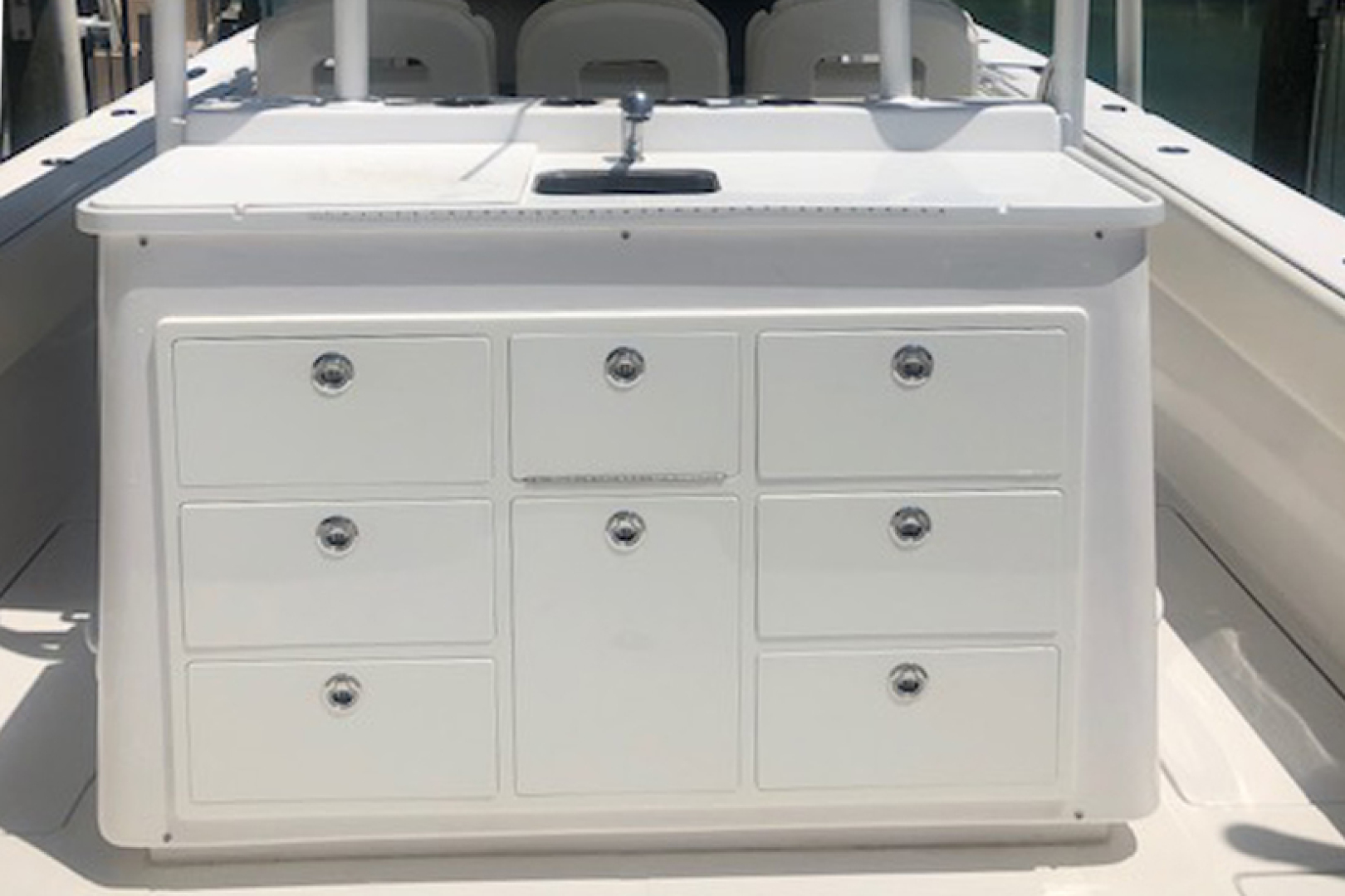 SeaHunter-45 Center Console 2016-No Name Bal Harbour-Florida-United States-2016 45 Sea Hunter  Bait Sink and Tackle Storage-1469670   Thumbnail