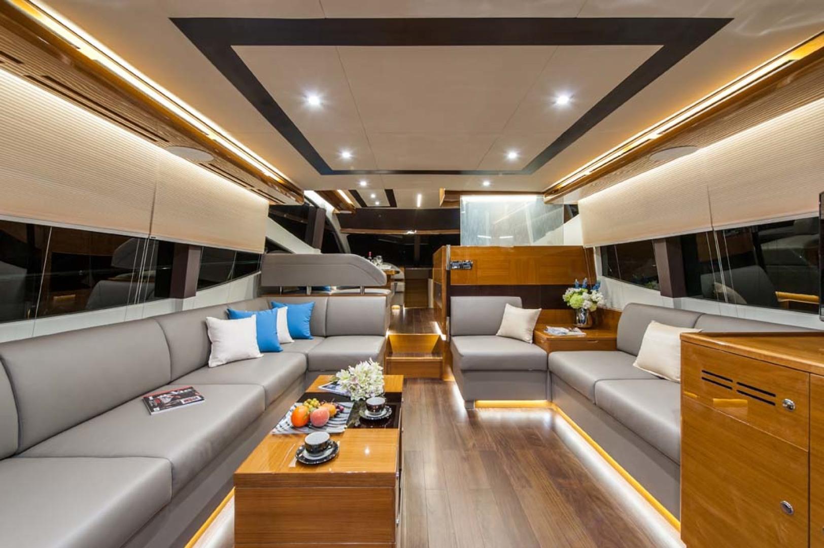 Dyna Yachts-Flybridge 2021 -Florida-United States-Main Salon-1065885 | Thumbnail