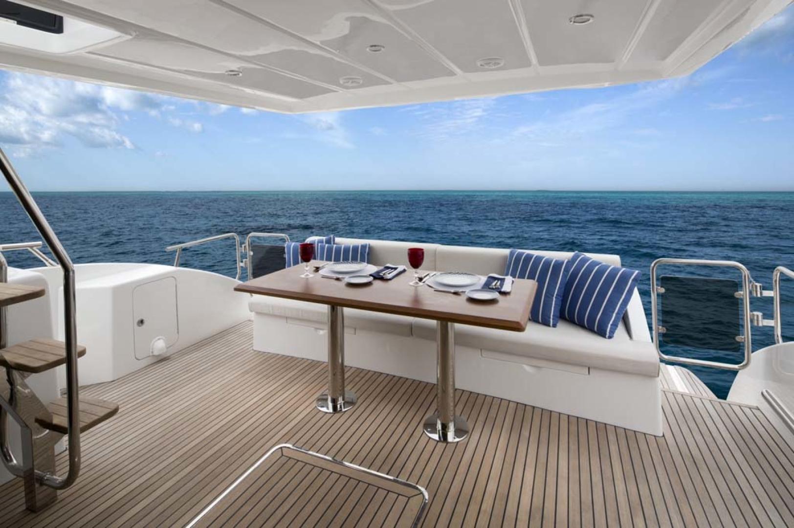 Dyna Yachts-Flybridge 2021 -Florida-United States-Aft Deck-1065909 | Thumbnail