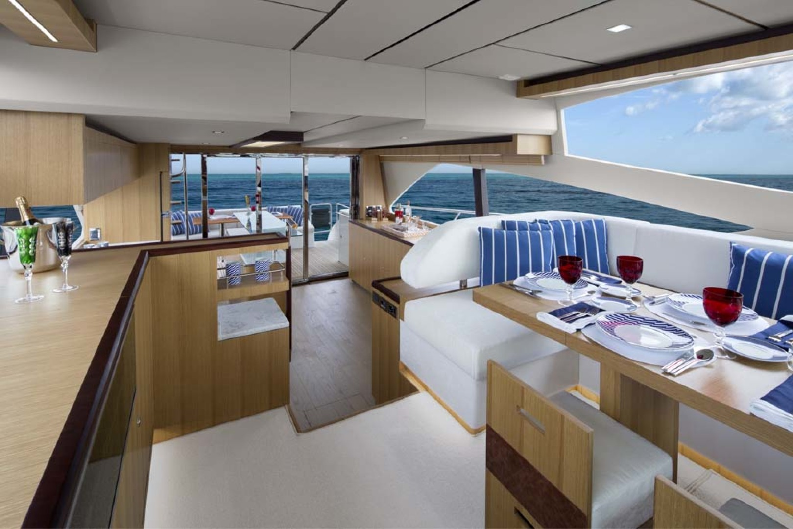 Dyna Yachts-Flybridge 2021 -Florida-United States-Main Salon-1065890 | Thumbnail