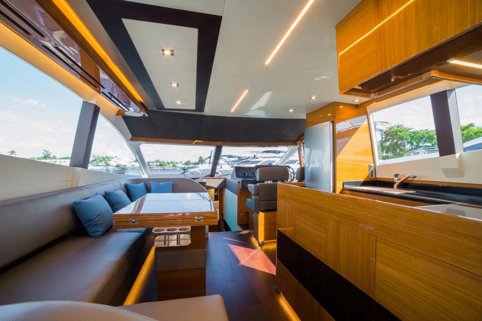 Dyna Yachts-Flybridge 2021 -Florida-United States-Salon Galley Forward-1065879 | Thumbnail