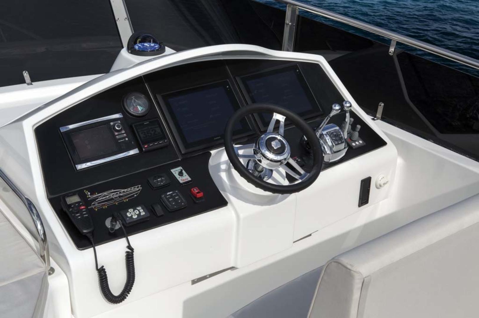 Dyna Yachts-Flybridge 2021 -Florida-United States-Upper Helm-1065907 | Thumbnail