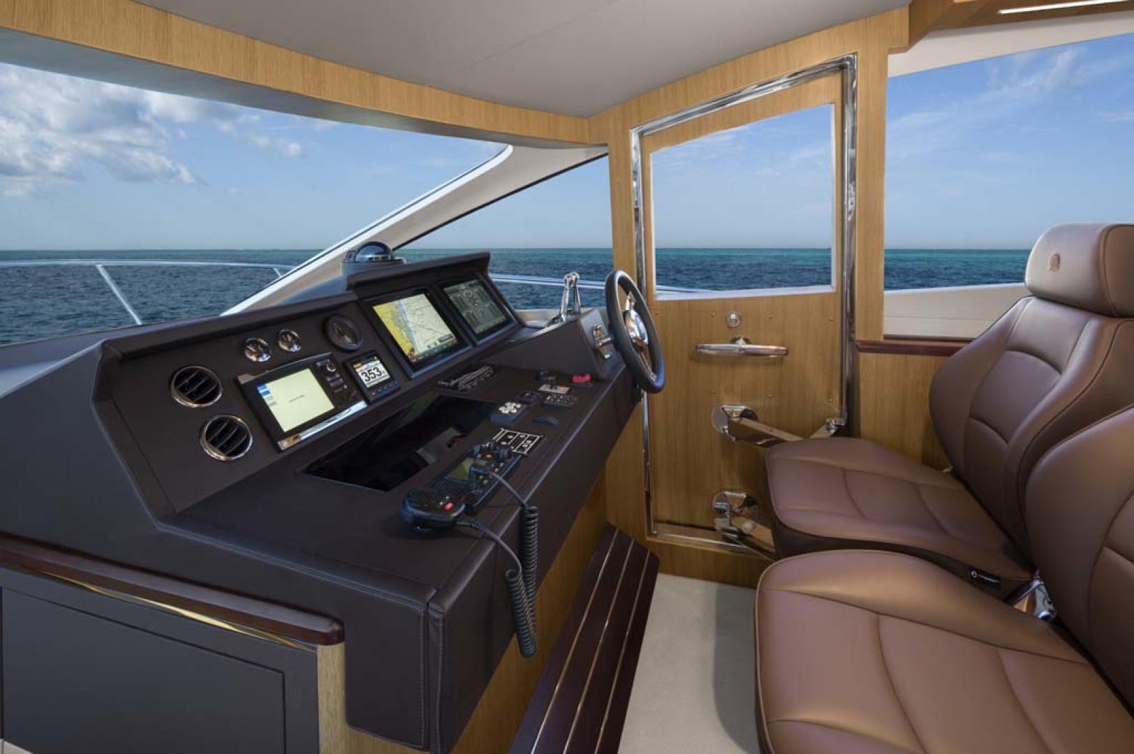 Dyna Yachts-Flybridge 2021 -Florida-United States-Lower Helm Station-1065887 | Thumbnail