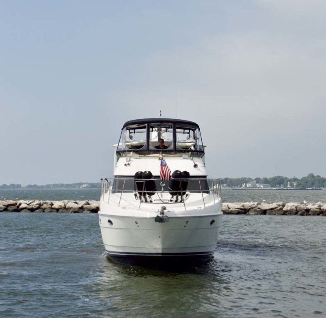 Meridian-459 Motoryacht 2006-Totally Outta Control Long Island-New York-United States-Bow-1068642 | Thumbnail