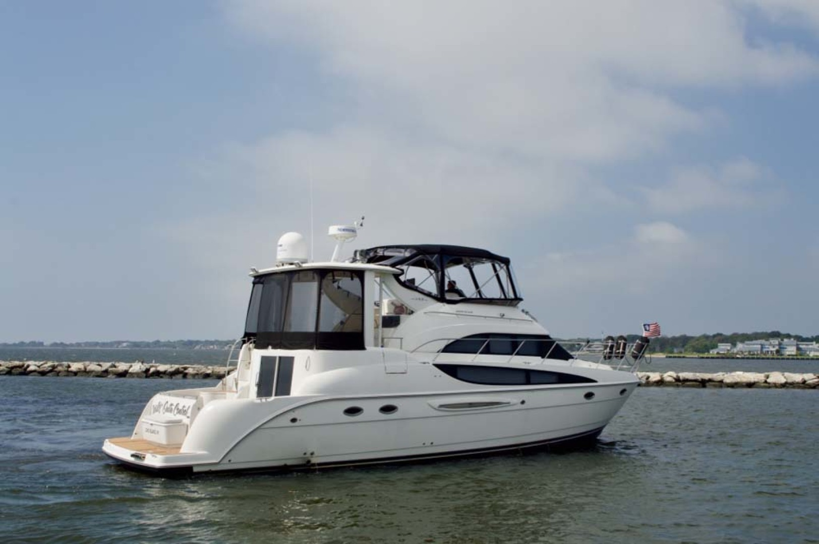 Meridian-459 Motoryacht 2006-Totally Outta Control Long Island-New York-United States-2006 Meridian 459 Stbd Side-1068641 | Thumbnail