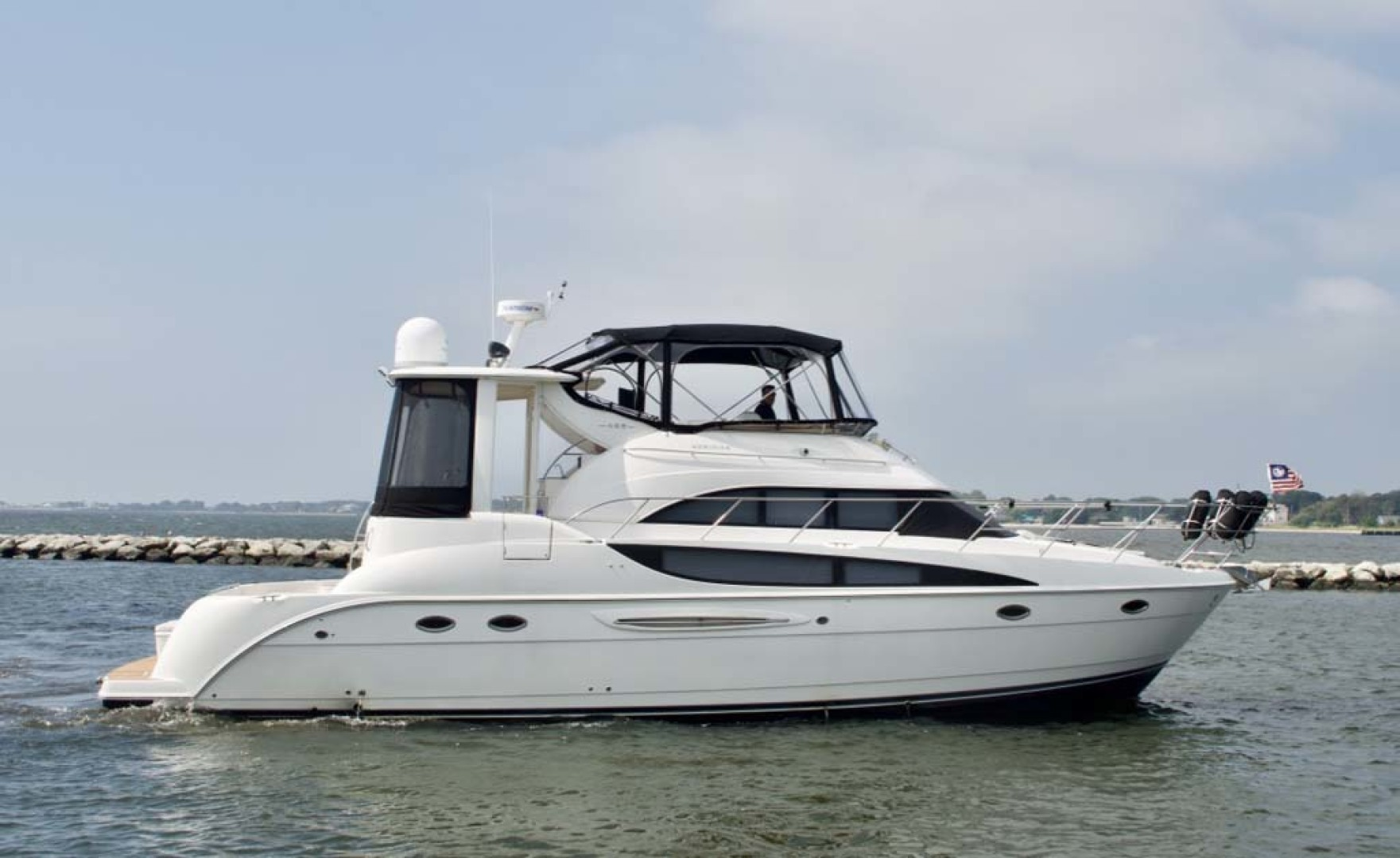 Meridian-459 Motoryacht 2006-Totally Outta Control Long Island-New York-United States-2006 Meridian 459 Profile-1068639 | Thumbnail