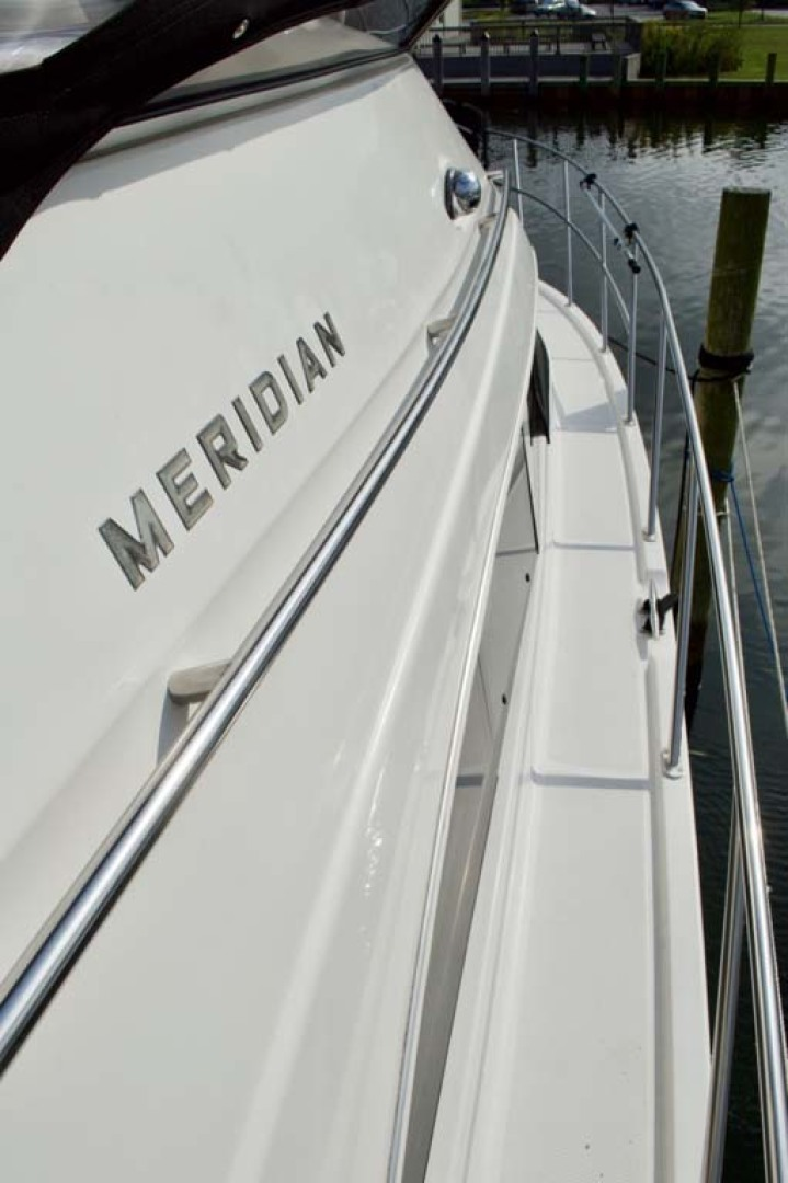 Meridian-459 Motoryacht 2006-Totally Outta Control Long Island-New York-United States-Stbd Side Deck-1068652 | Thumbnail