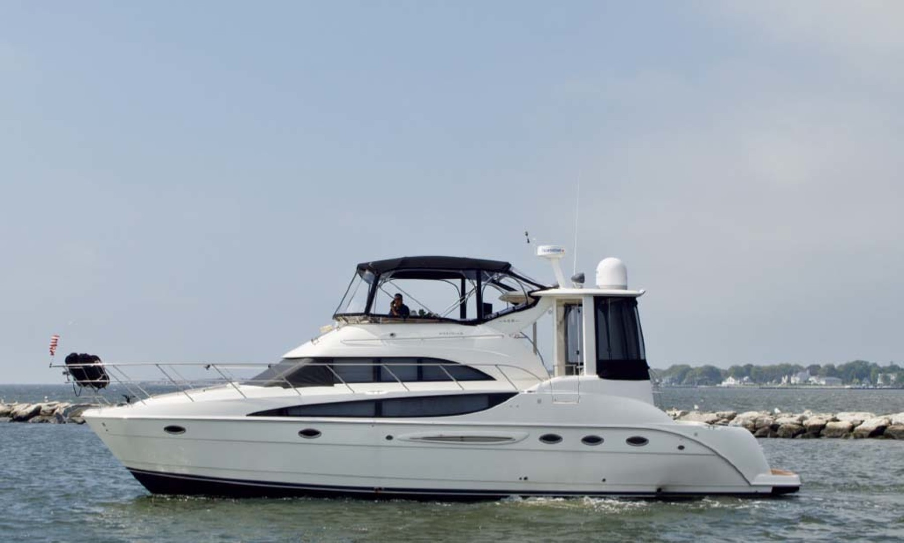 Meridian-459 Motoryacht 2006-Totally Outta Control Long Island-New York-United States-Port Side-1068643 | Thumbnail