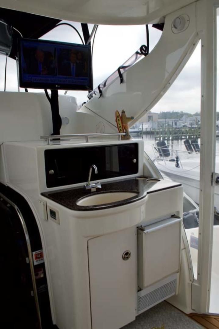 Meridian-459 Motoryacht 2006-Totally Outta Control Long Island-New York-United States-Aft Deck Wetbar-1068660 | Thumbnail
