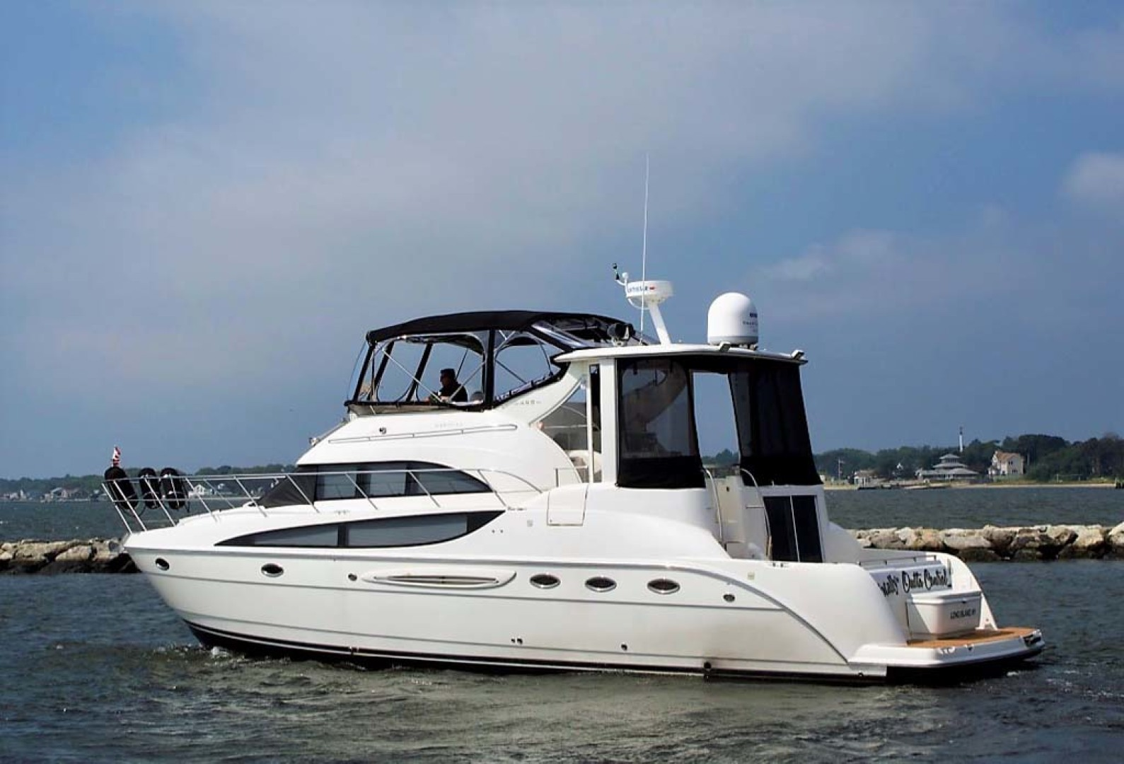 Meridian-459 Motoryacht 2006-Totally Outta Control Long Island-New York-United States-Port AFt Qtr-1068644 | Thumbnail