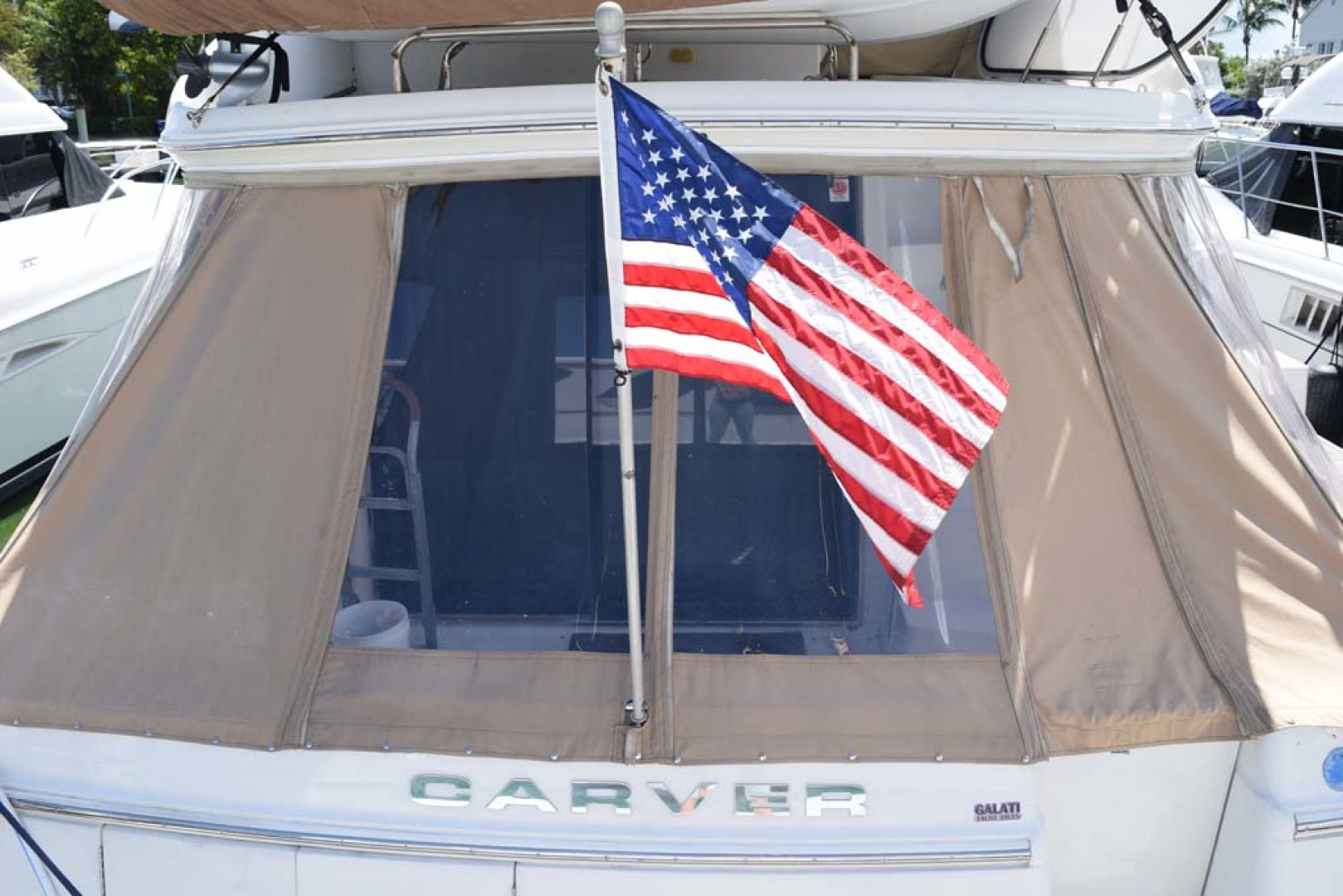 Carver-Voyager 2005-Sawbones Fort Lauderdale-Florida-United States-Aft Deck Canvas-1068999 | Thumbnail
