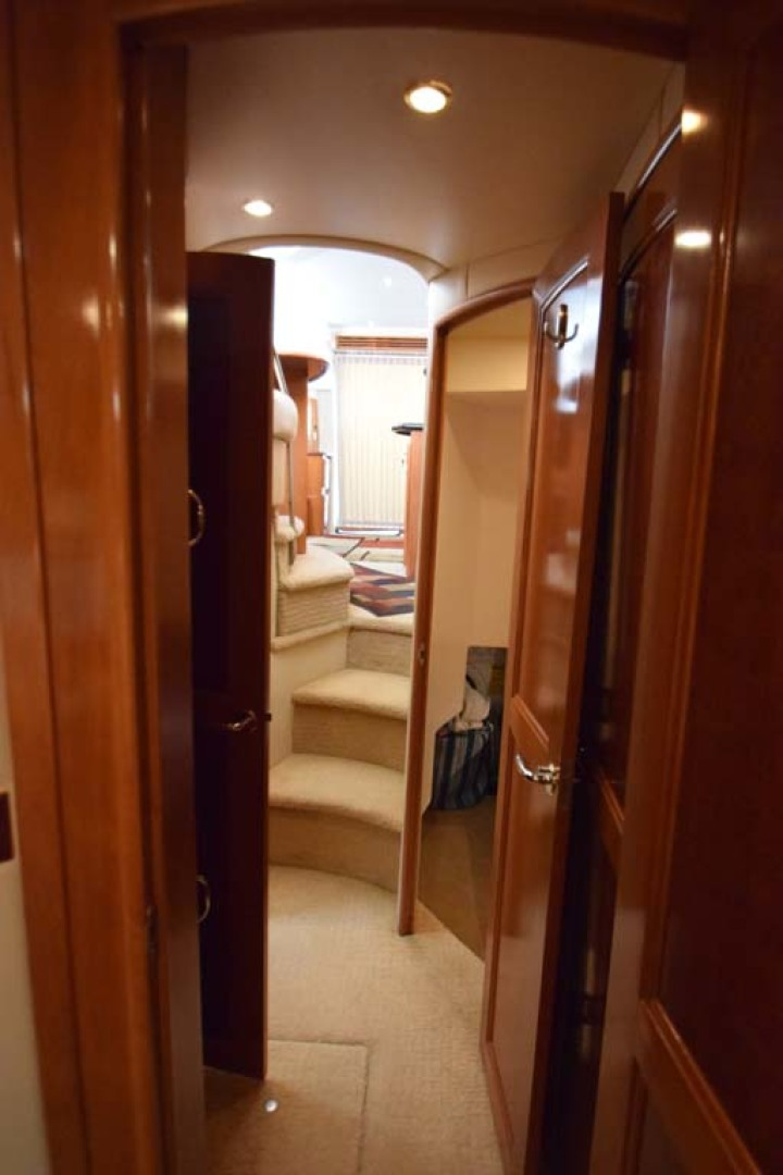 Carver-Voyager 2005-Sawbones Fort Lauderdale-Florida-United States-Hallway to Cabins-1069039 | Thumbnail