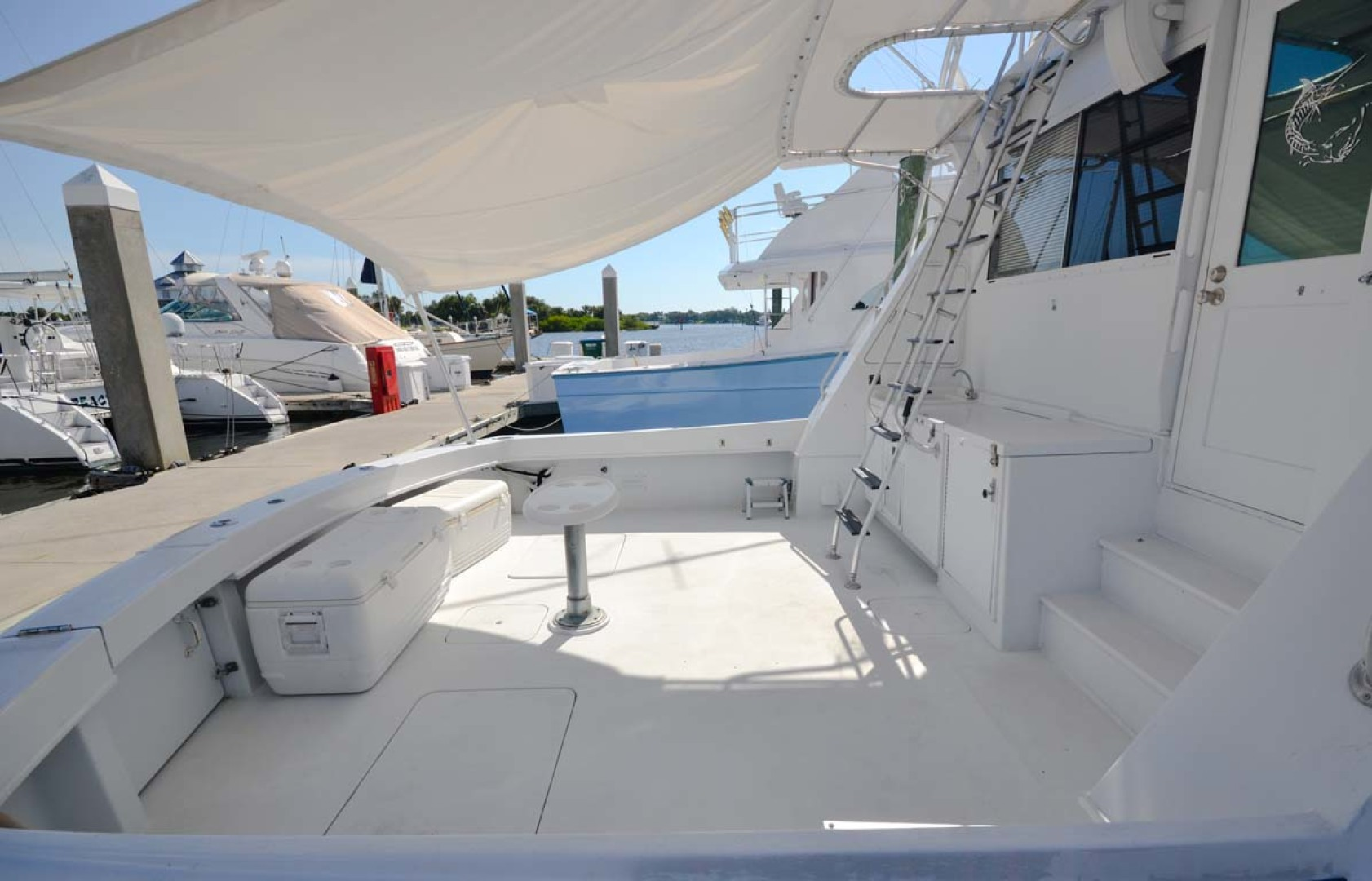 Hatteras-60 Flybridge 1979-Sea Horse Daytona Beach-Florida-United States-Painted Cockpit-1183210 | Thumbnail