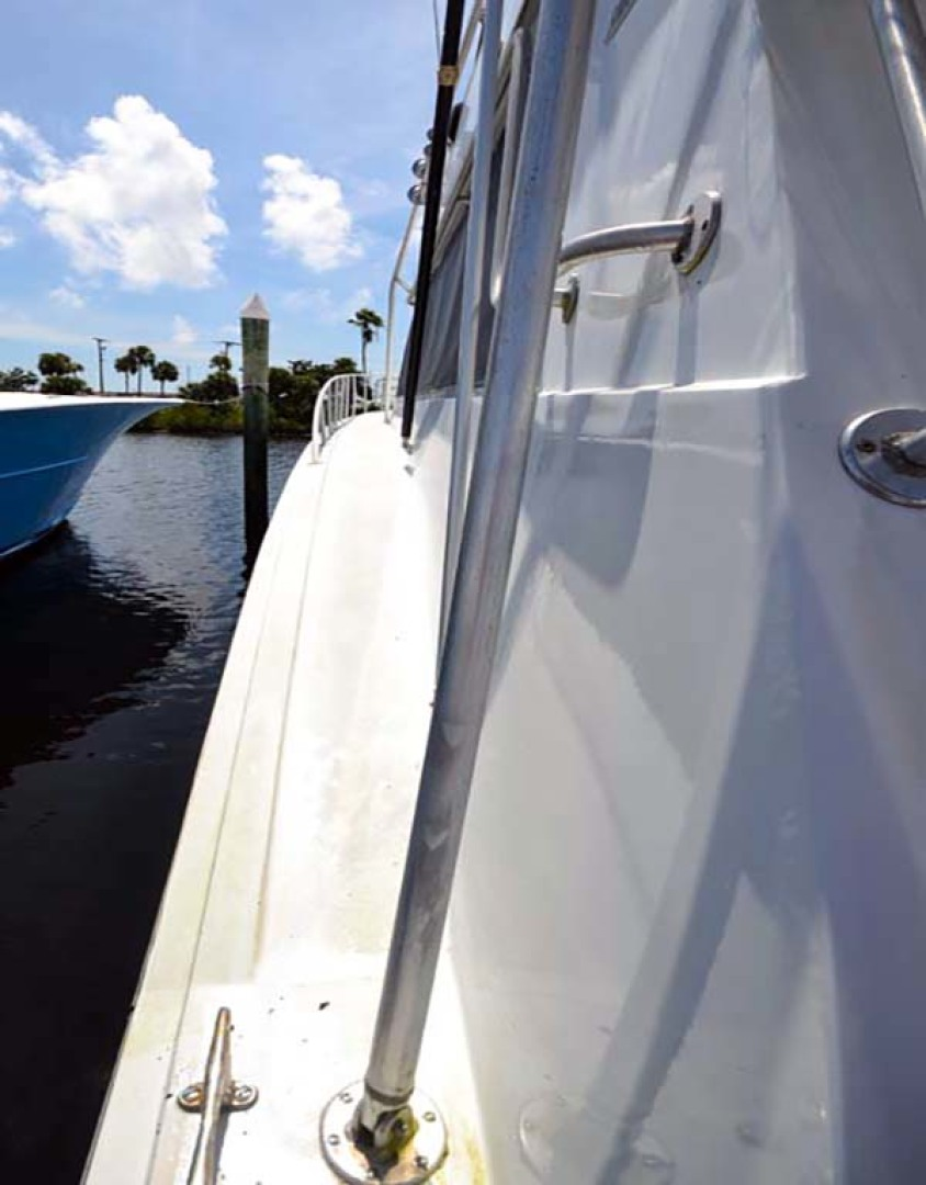 Hatteras-60 Flybridge 1979-Sea Horse Daytona Beach-Florida-United States-Port Gunnel-1070352 | Thumbnail