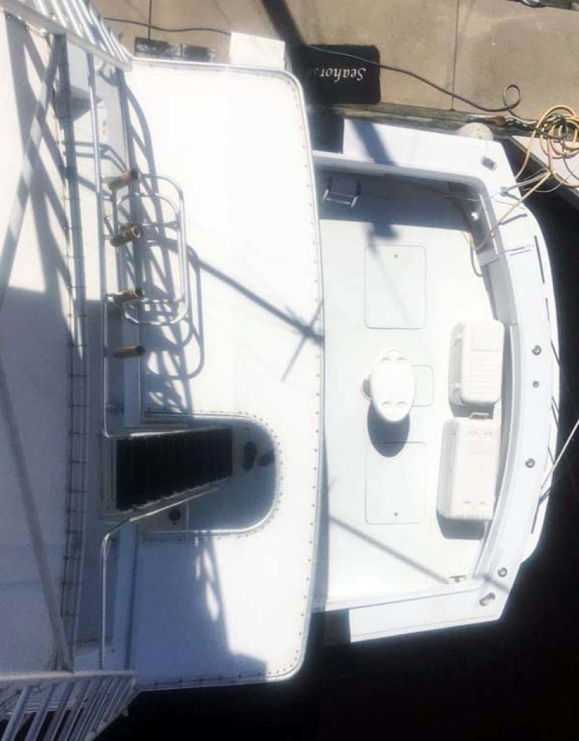 Hatteras-60 Flybridge 1979-Sea Horse Daytona Beach-Florida-United States-Cockpit from Tower-1070910 | Thumbnail