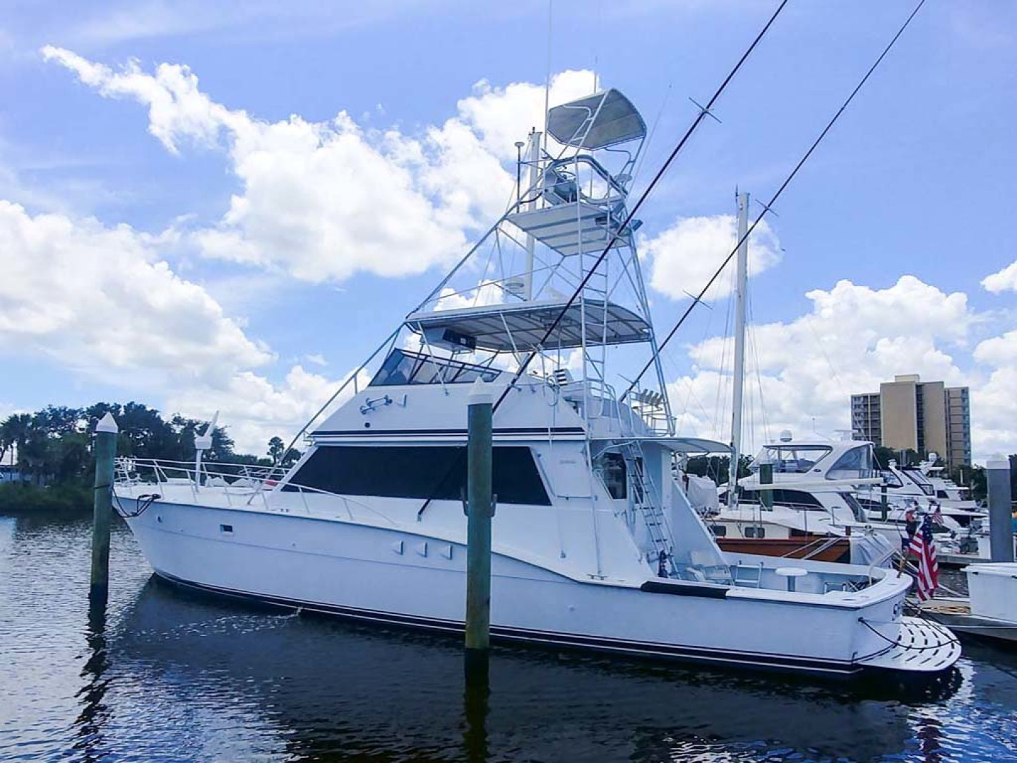 Hatteras-60 Flybridge 1979-Sea Horse Daytona Beach-Florida-United States-Profile-1070347 | Thumbnail
