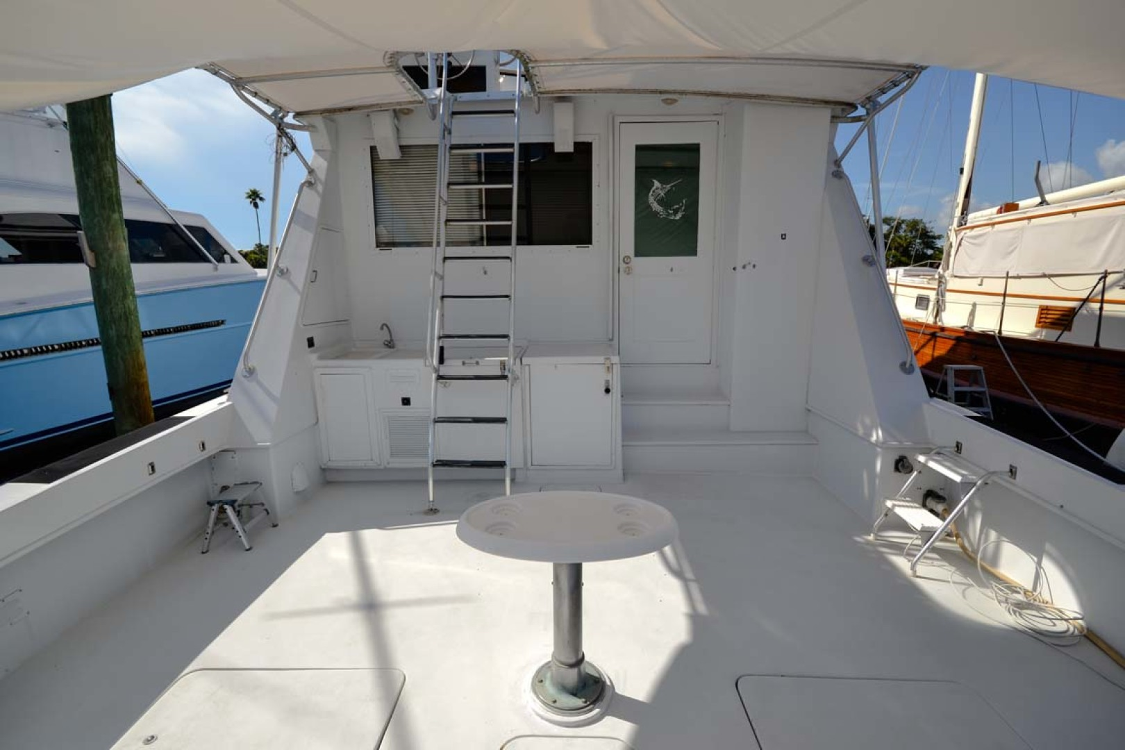 Hatteras-60 Flybridge 1979-Sea Horse Daytona Beach-Florida-United States-Cockpit-1183209 | Thumbnail