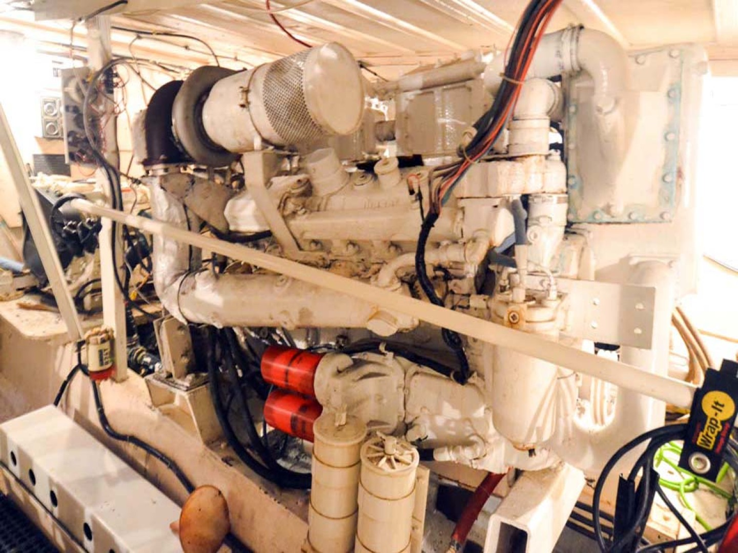 Hatteras-60 Flybridge 1979-Sea Horse Daytona Beach-Florida-United States-Port Engine-1070908 | Thumbnail