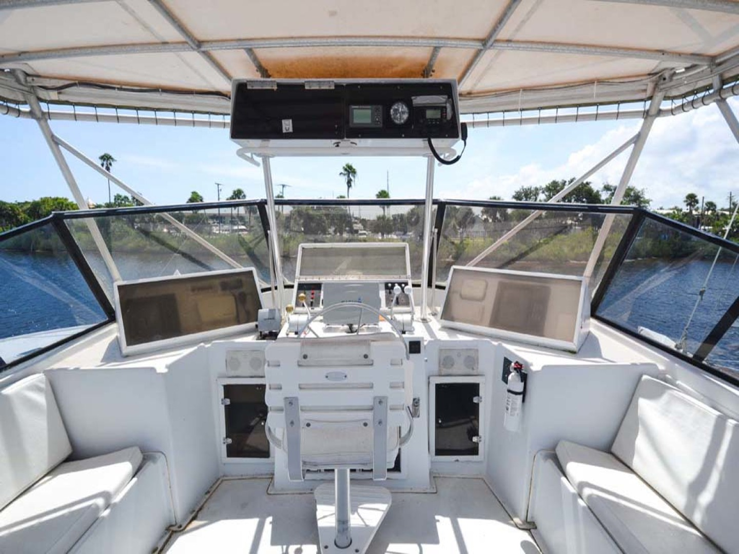 Hatteras-60 Flybridge 1979-Sea Horse Daytona Beach-Florida-United States-Flybridge-1070370 | Thumbnail