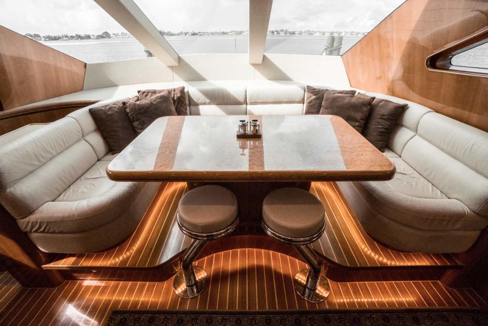 Horizon-Cockpit-Motor-Yacht-2008-Liberation-Stuart-Florida-United-States-Dining-1075326