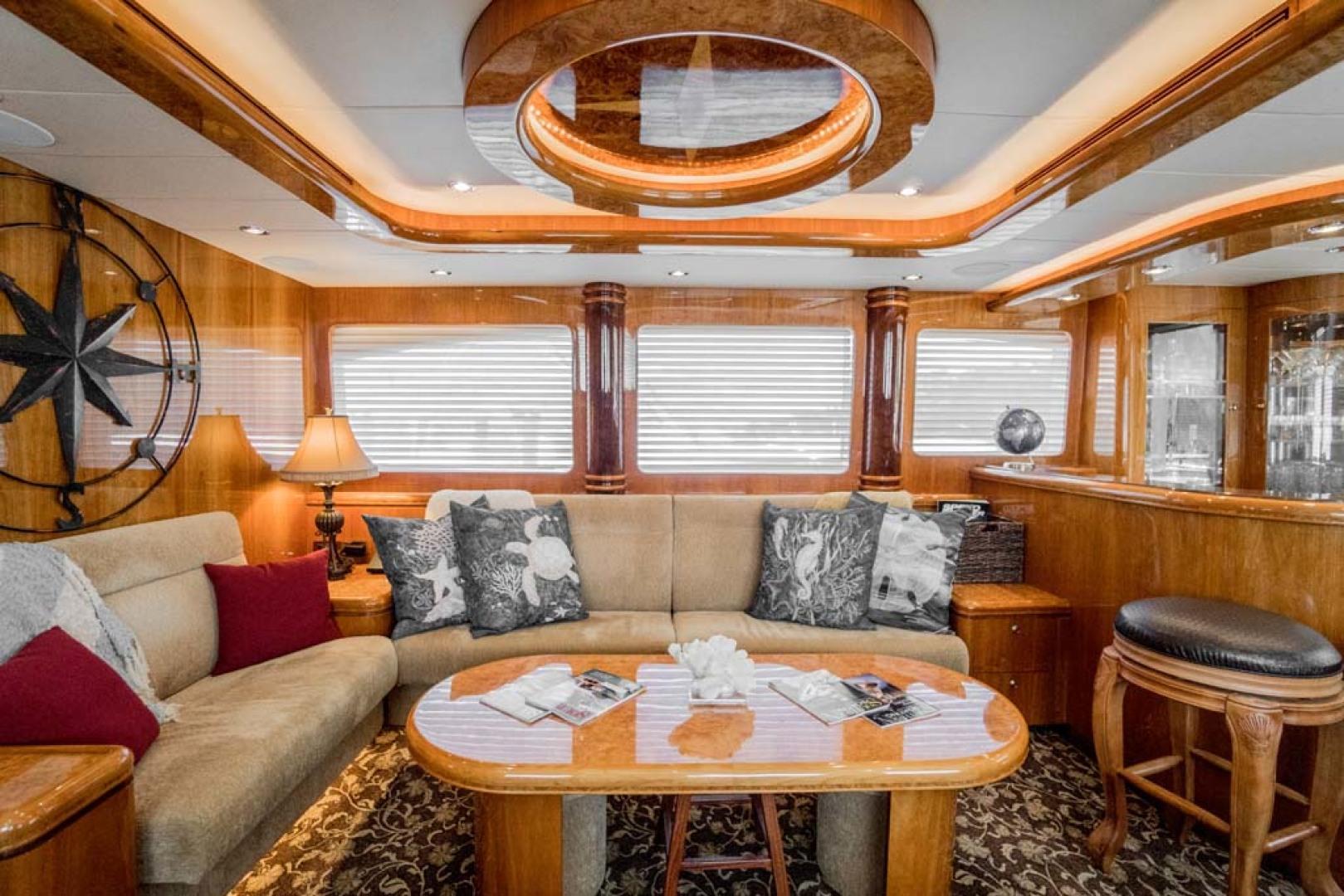 Horizon-Cockpit-Motor-Yacht-2008-Liberation-Stuart-Florida-United-States-Salon-Settee-and-Coffee-Table-1075323