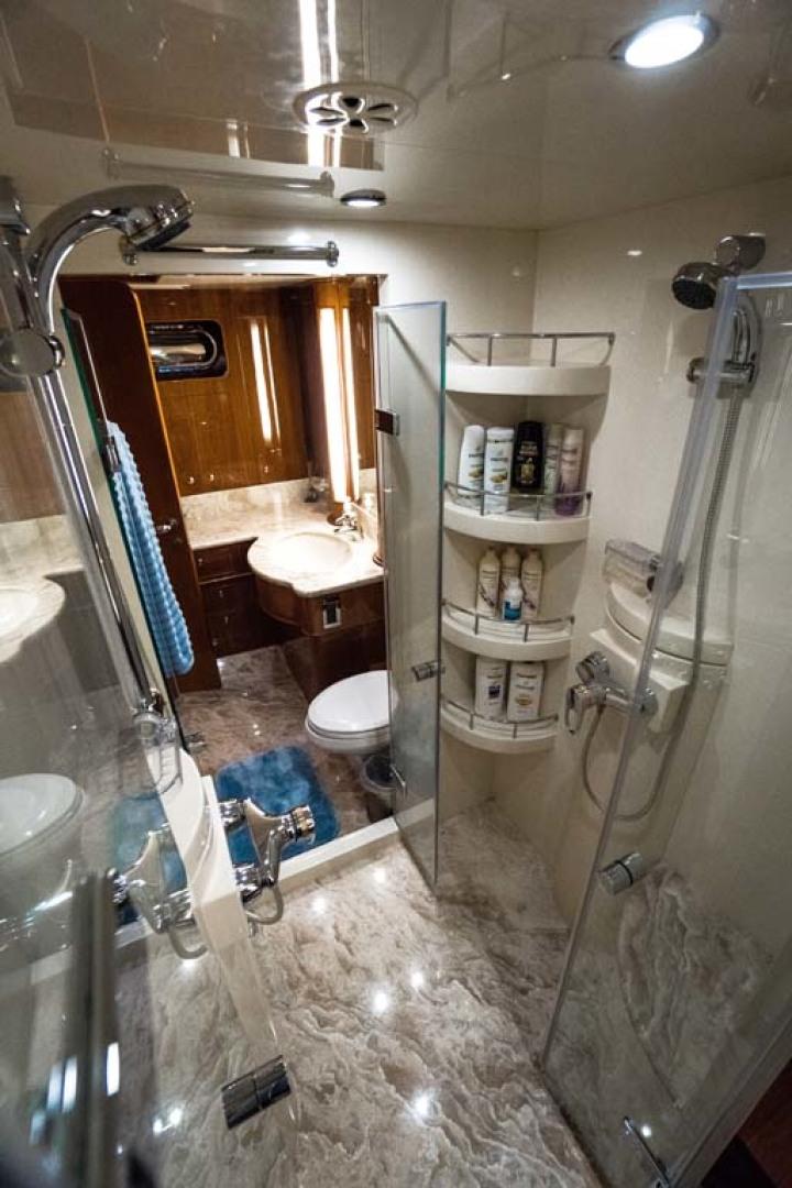 Horizon-Cockpit-Motor-Yacht-2008-Liberation-Stuart-Florida-United-States-Master-Shower-1075353
