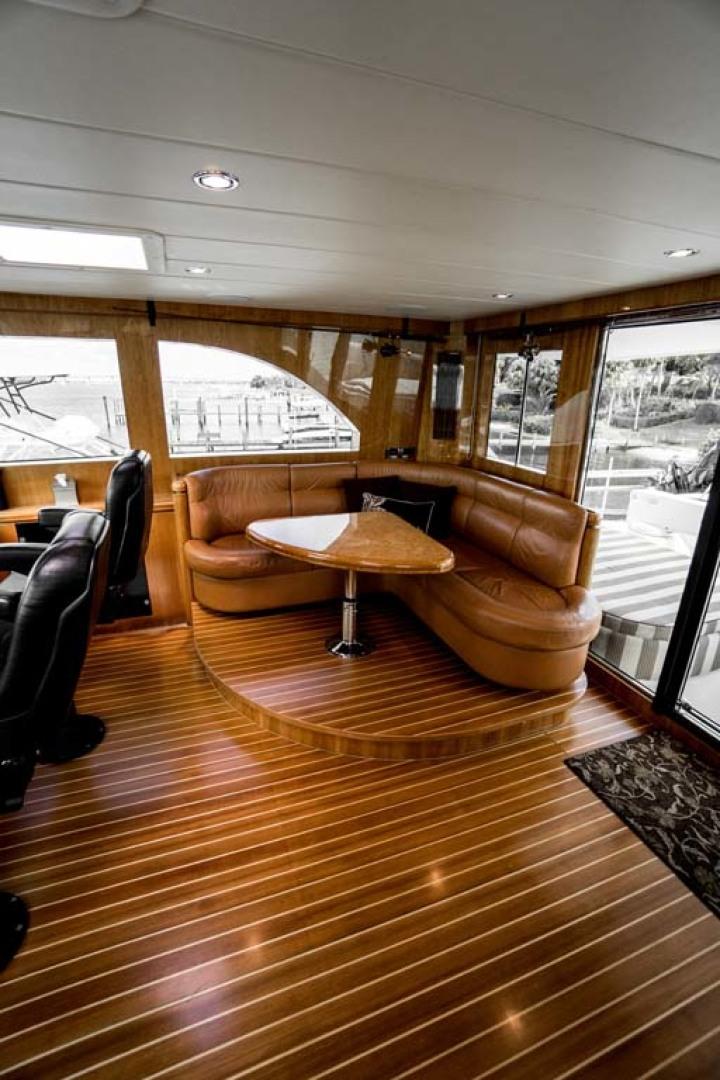 Horizon-Cockpit-Motor-Yacht-2008-Liberation-Stuart-Florida-United-States-Pilothouse-Aft-Settee-1075341