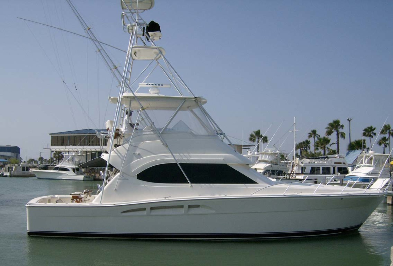 Riviera-Convertible Sport Fisherman 2004-Sol Mate South Padre Island-Texas-United States-Port Profile-1075616 | Thumbnail