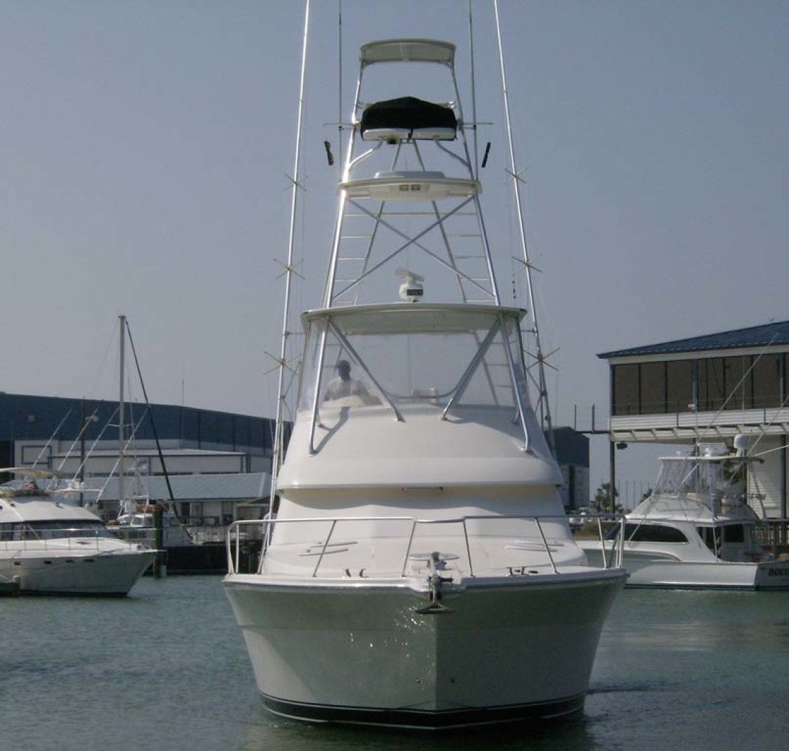 Riviera-Convertible Sport Fisherman 2004-Sol Mate South Padre Island-Texas-United States-Bow View-1075621 | Thumbnail