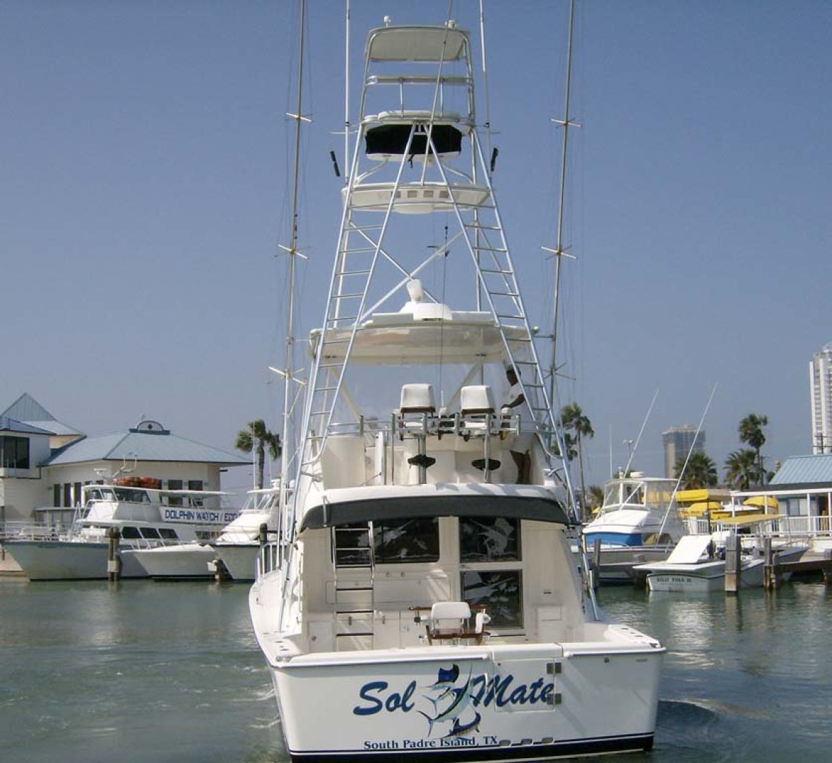 Riviera-Convertible Sport Fisherman 2004-Sol Mate South Padre Island-Texas-United States-Stern Profile-1075684 | Thumbnail