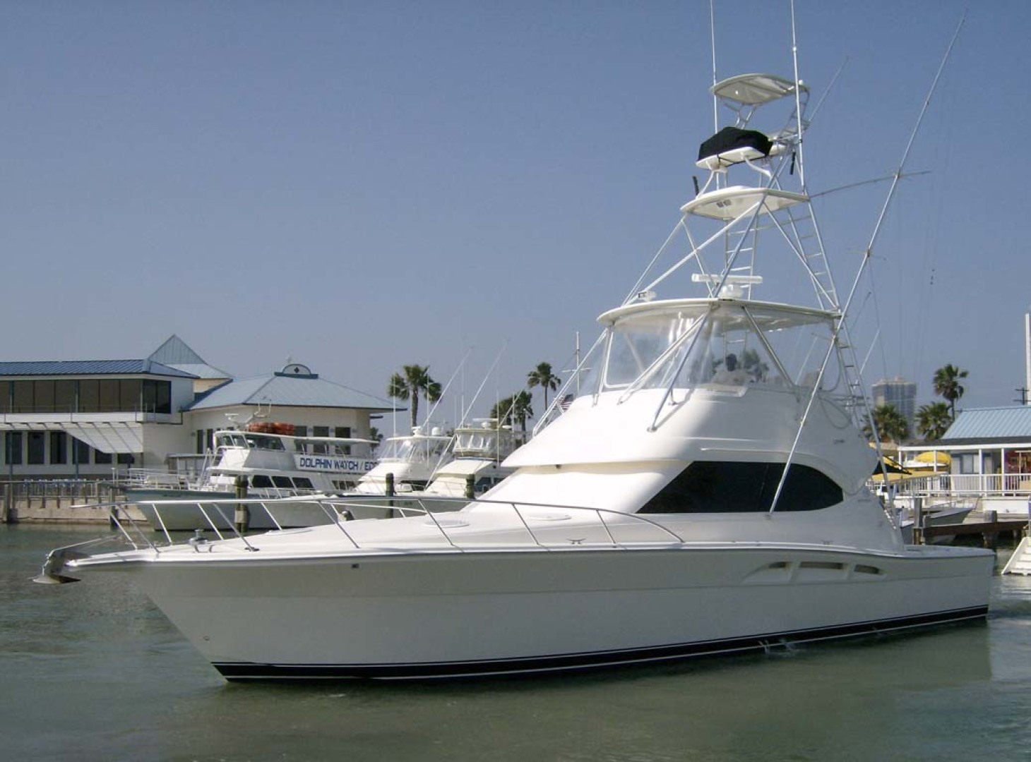 Riviera-Convertible Sport Fisherman 2004-Sol Mate South Padre Island-Texas-United States-Profile-1075614 | Thumbnail