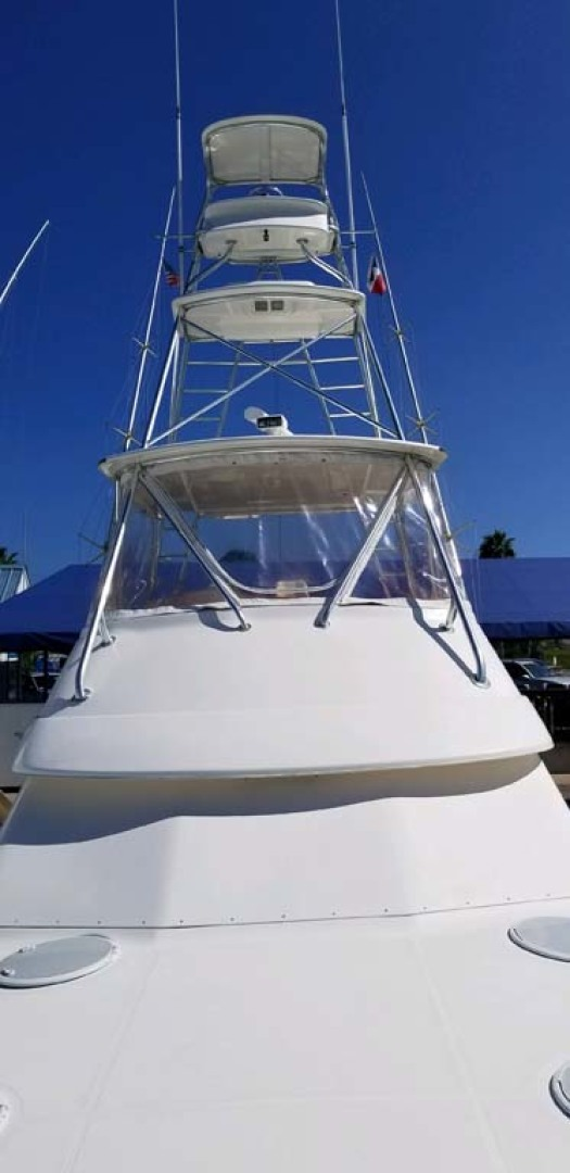 Riviera-Convertible Sport Fisherman 2004-Sol Mate South Padre Island-Texas-United States-Custom Tower-1075622 | Thumbnail