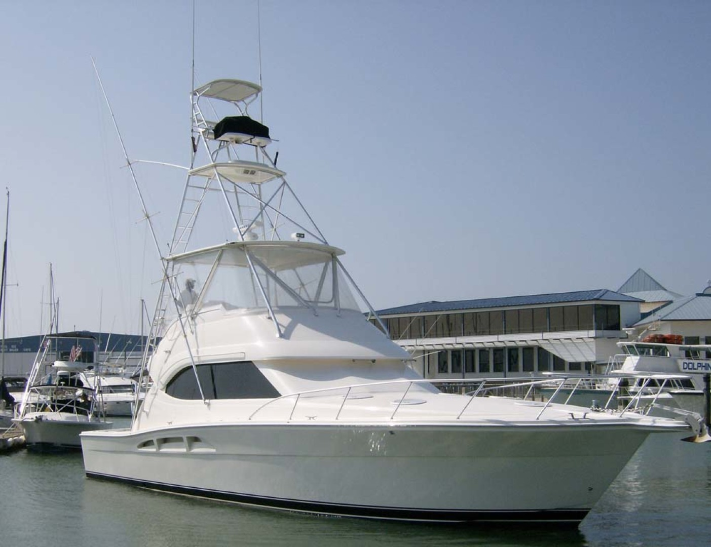 Riviera-Convertible Sport Fisherman 2004-Sol Mate South Padre Island-Texas-United States-Port Bow-1075615 | Thumbnail