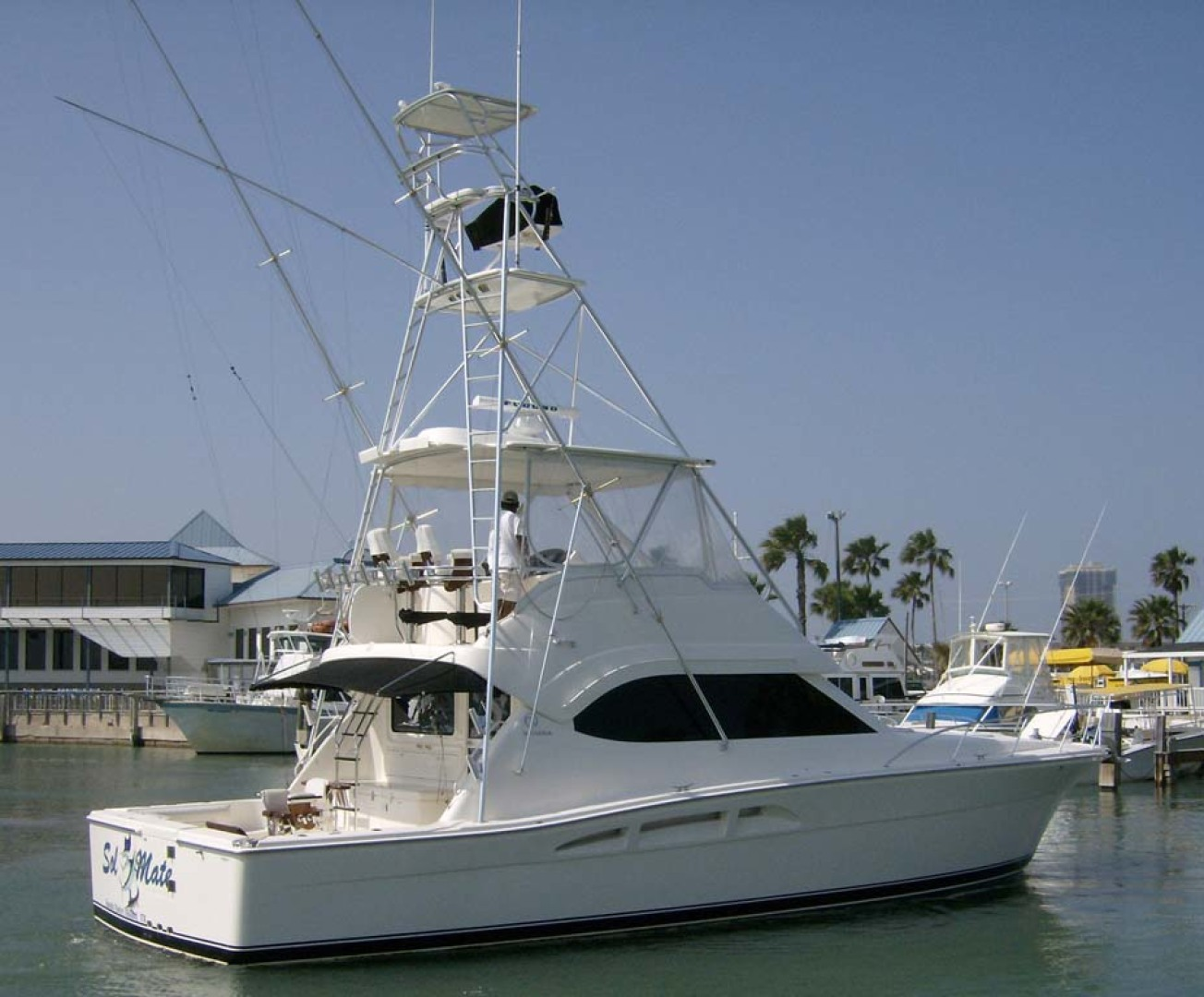 Riviera-Convertible Sport Fisherman 2004-Sol Mate South Padre Island-Texas-United States-Port Stern-1075617 | Thumbnail