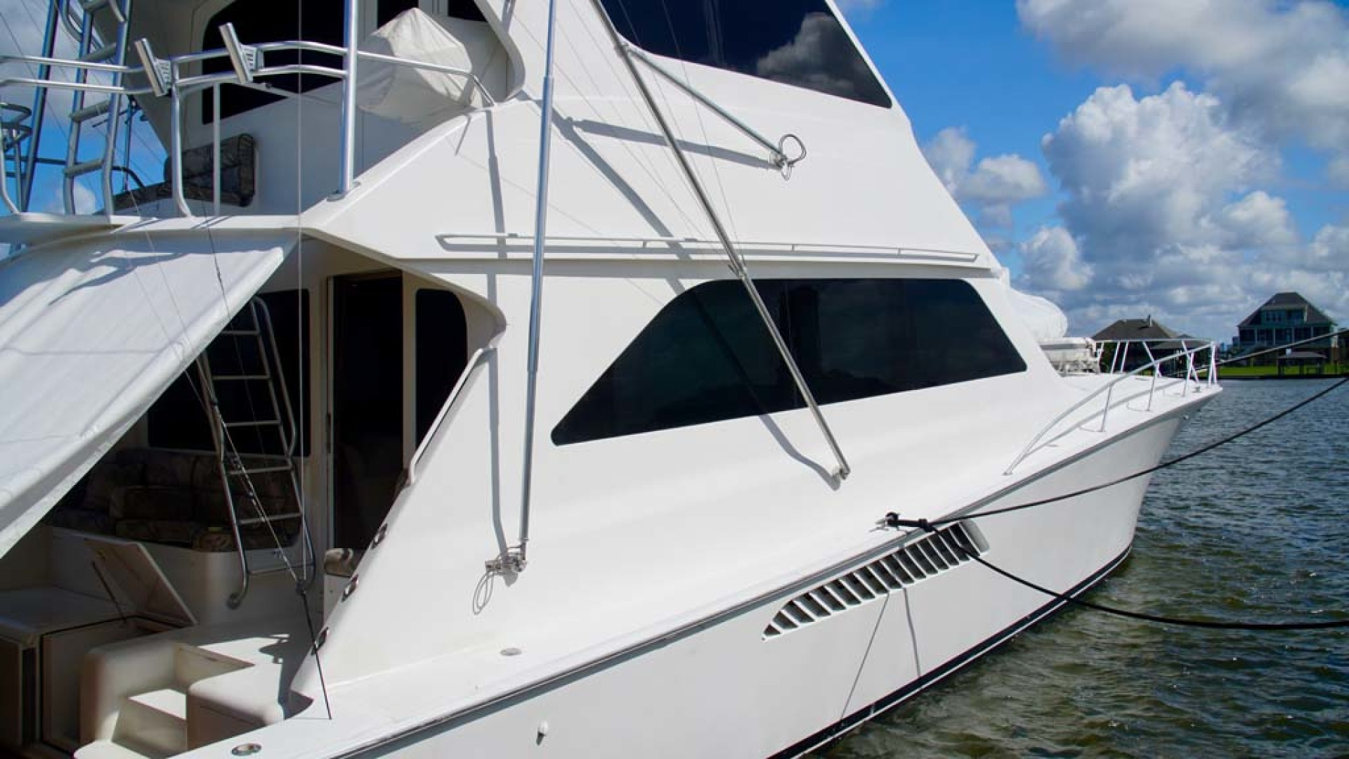 Viking-65 Enclosed Bridge Convertible 2001-TalkN Trash Orange Beach-Alabama-United States-Starboard Side-1075804 | Thumbnail