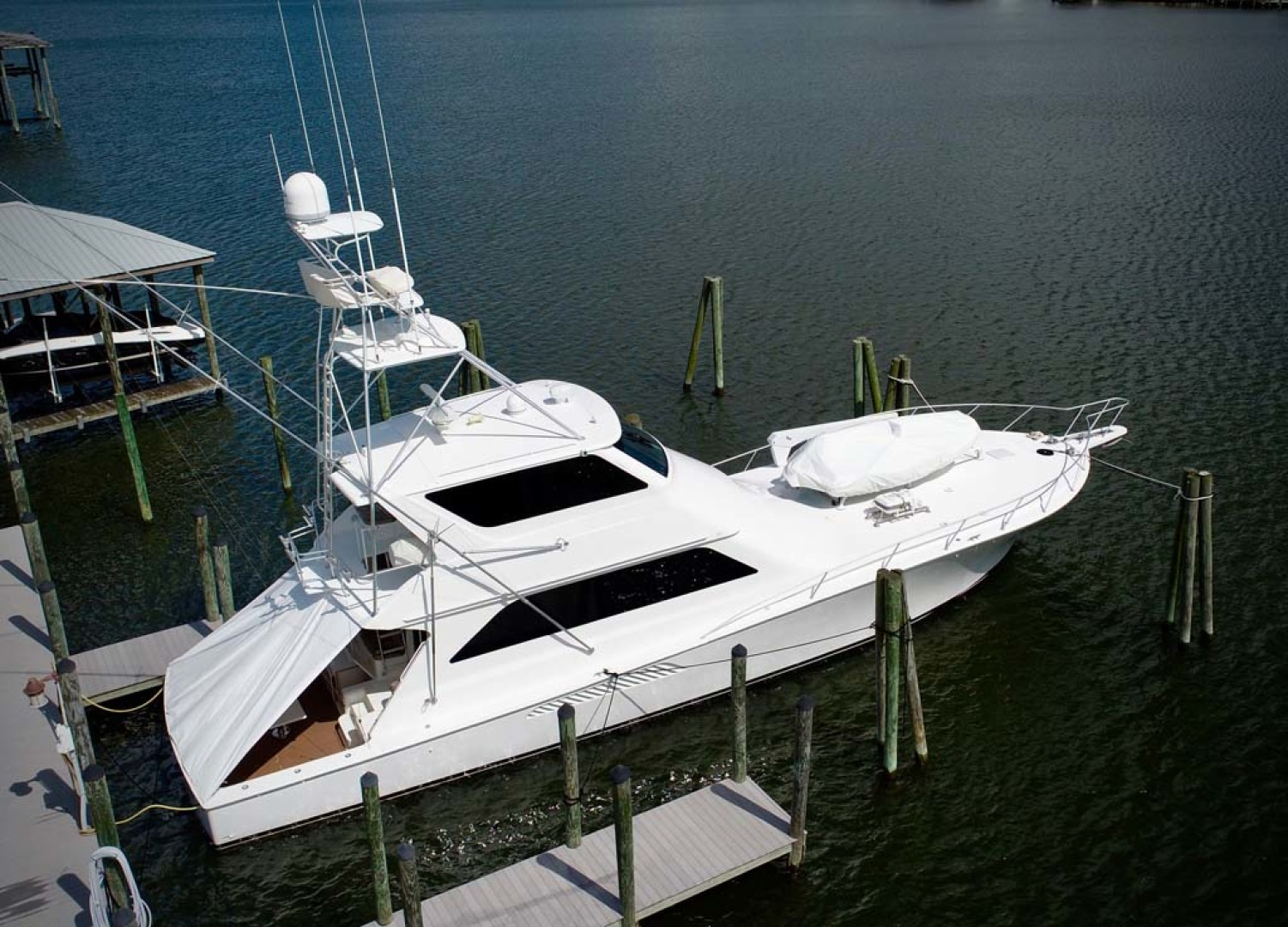 Viking-65 Enclosed Bridge Convertible 2001-TalkN Trash Orange Beach-Alabama-United States-Profile-1075796 | Thumbnail