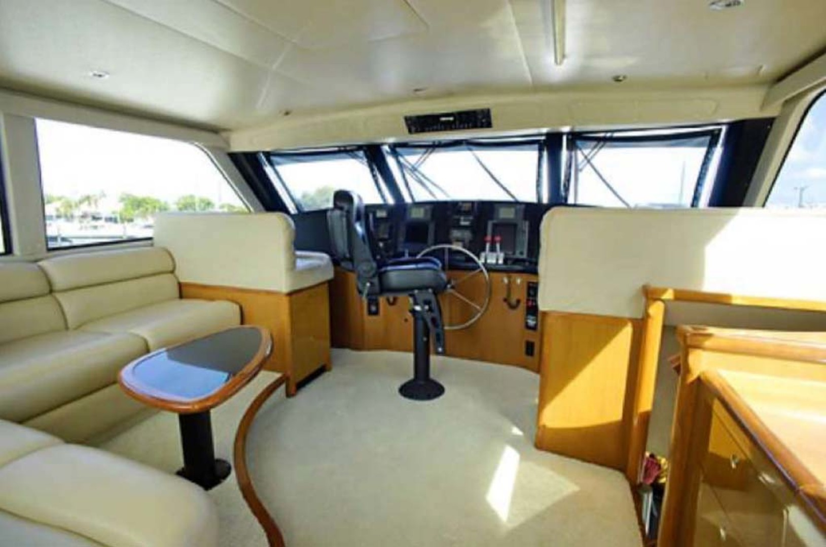 Viking-65 Enclosed Bridge Convertible 2001-TalkN Trash Orange Beach-Alabama-United States-Helm-1075815 | Thumbnail