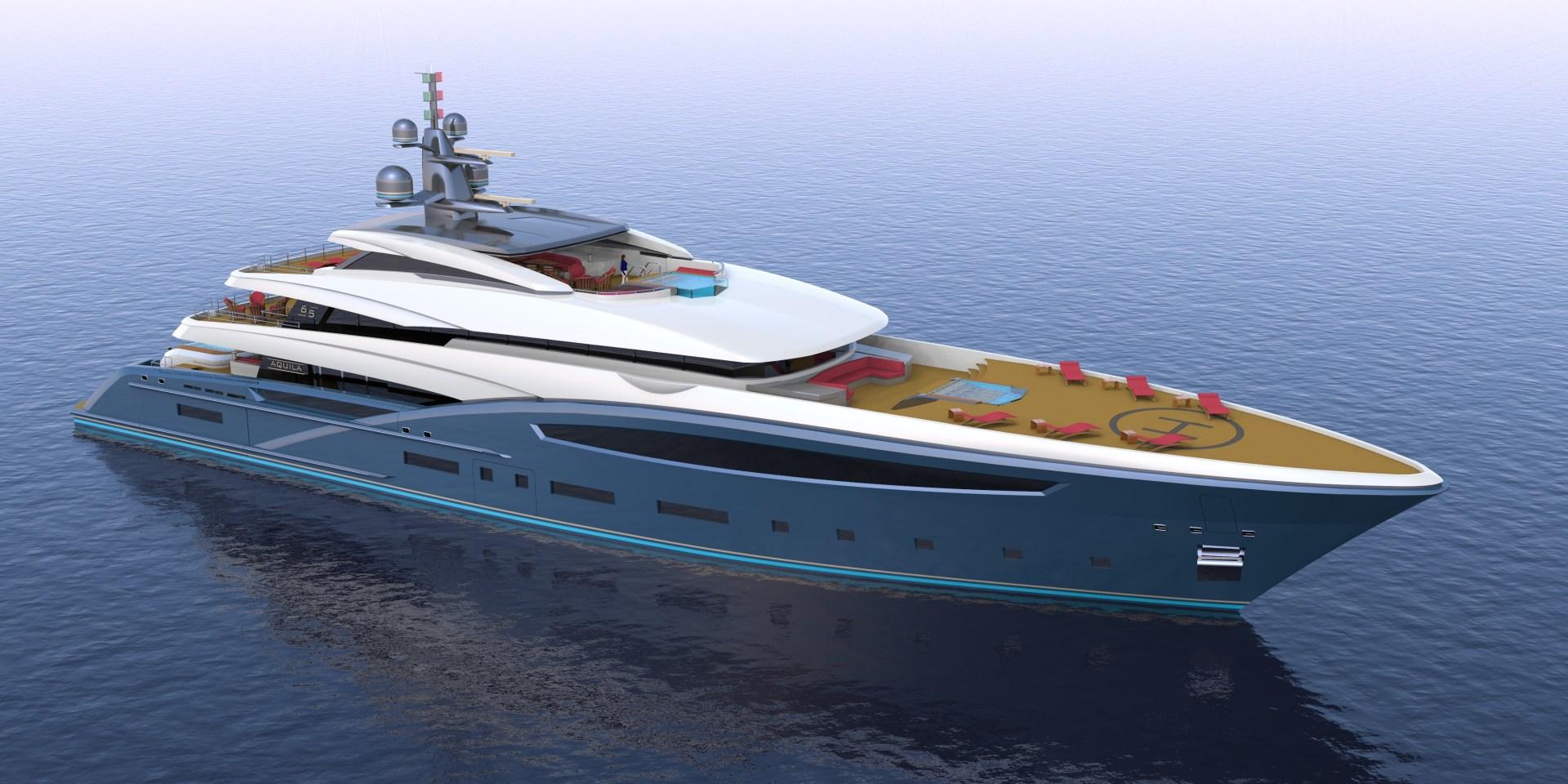 """2023 Custom 213' Hull #1 """"Custom 65M"""""""