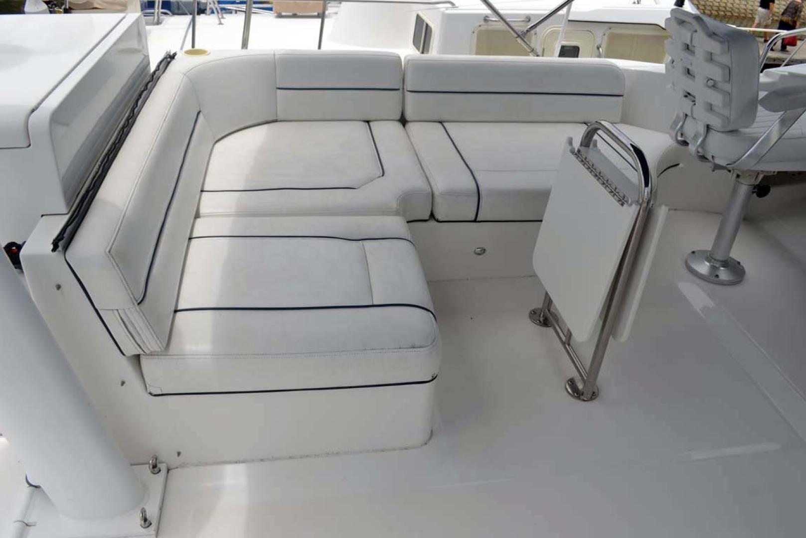Mainship-395 Trawler 2010-Stargazer Daytona Beach-Florida-United States-Flybridge Seating-1167101 | Thumbnail