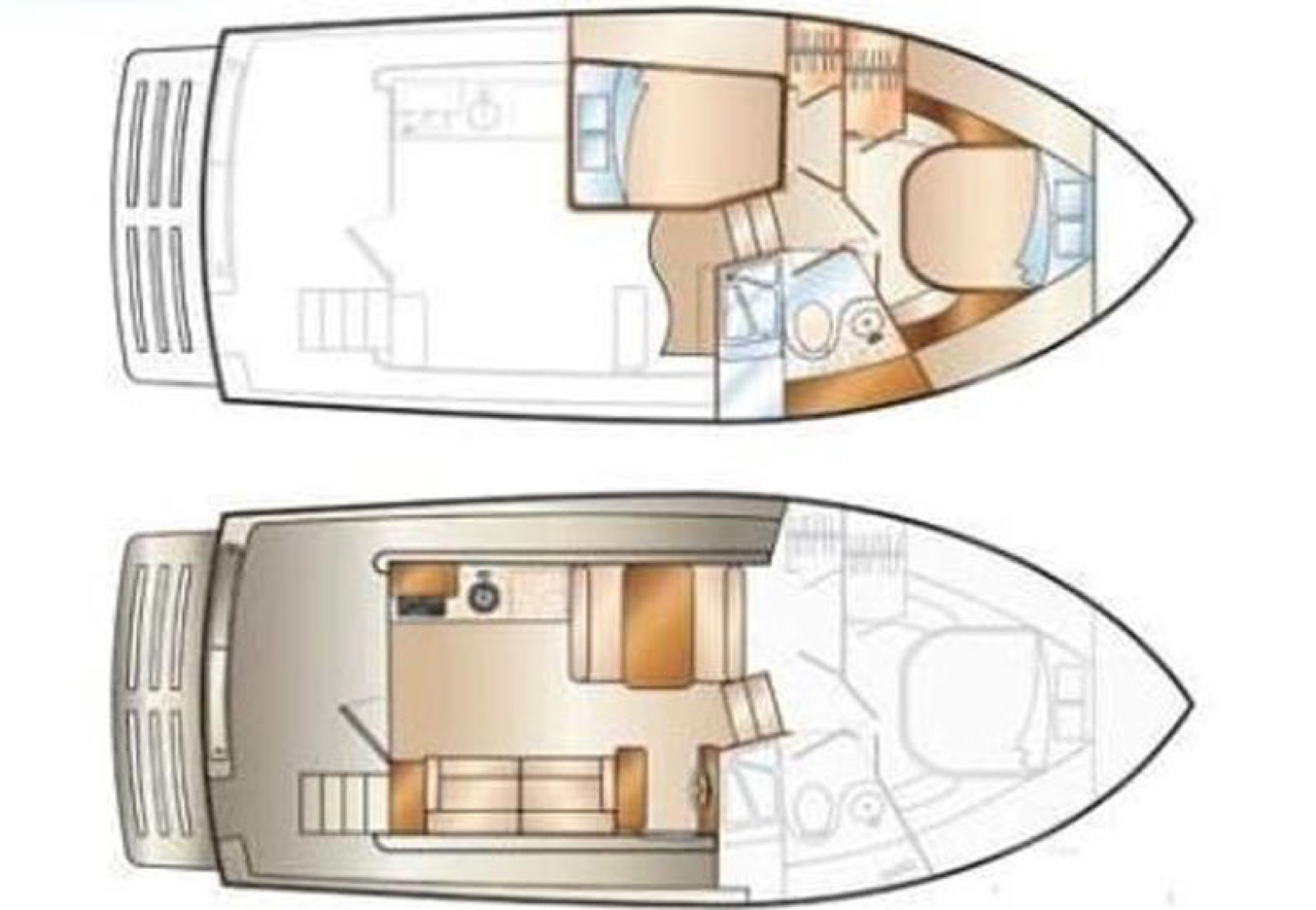 Mainship-395 Trawler 2010-Stargazer Daytona Beach-Florida-United States-Layout-1167110 | Thumbnail
